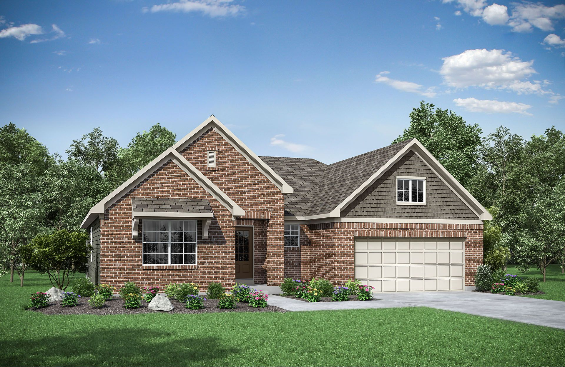 Exterior featured in the Beachwood By Drees Homes in Cincinnati, KY