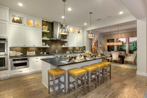 Kitchen-in-Tinsley-at-The Summit at Lake Travis-in-Spicewood