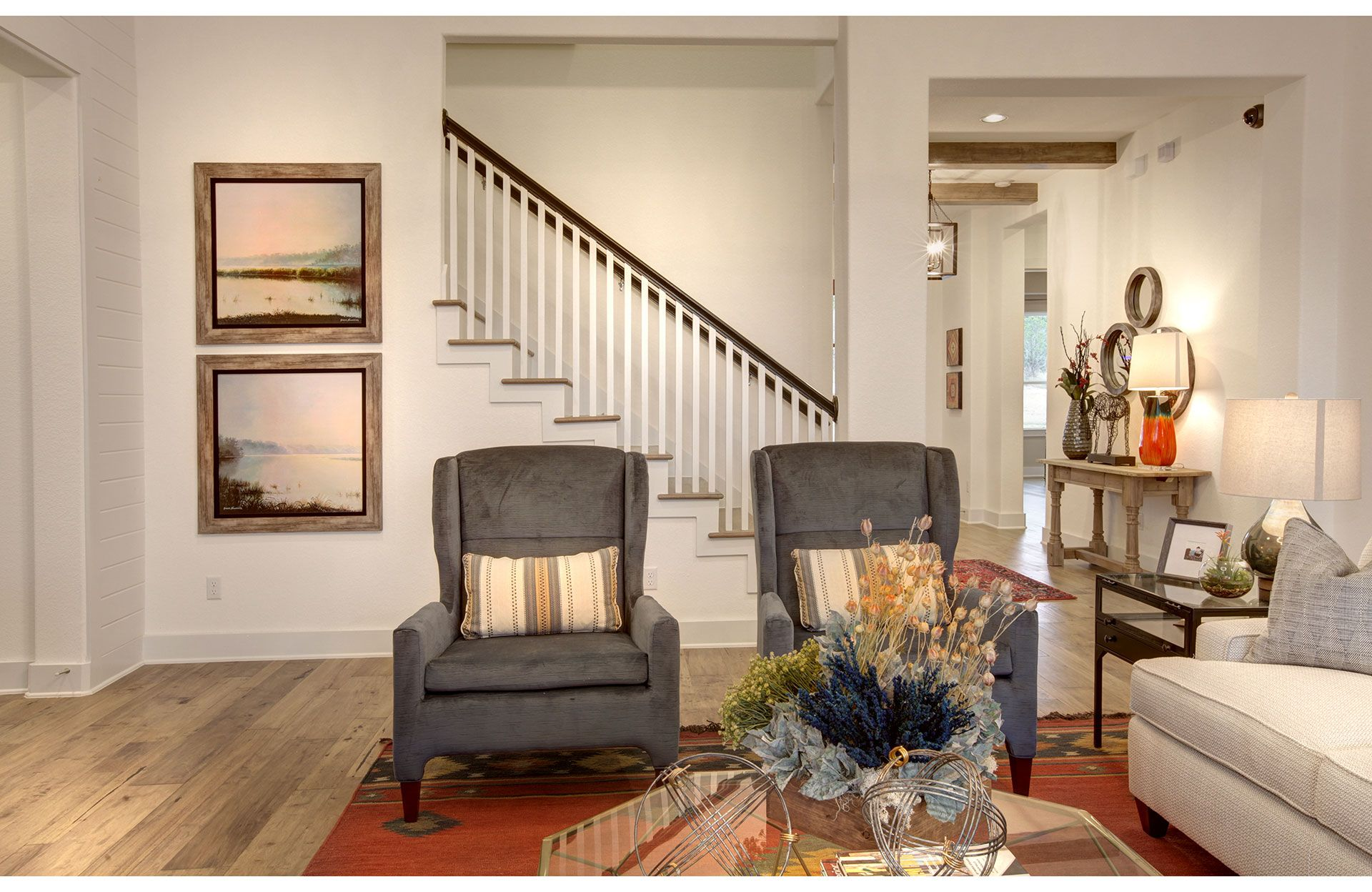 Living Area featured in the Archer By Drees Custom Homes in Austin, TX