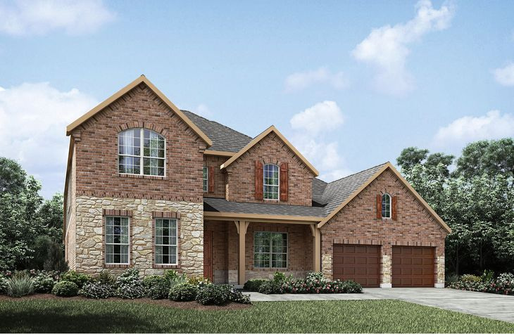 Crestmoore II A:Crestmoore II A with front porch