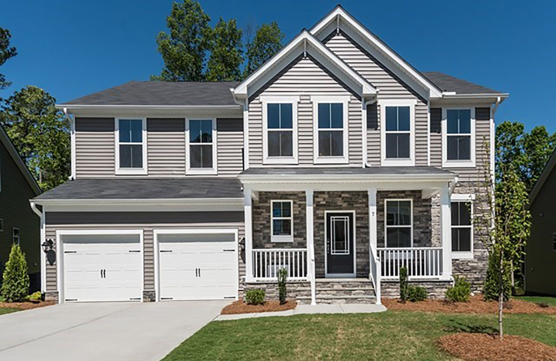 pleasant green woods in durham nc new homes floor plans by brightleaf at the park the vales