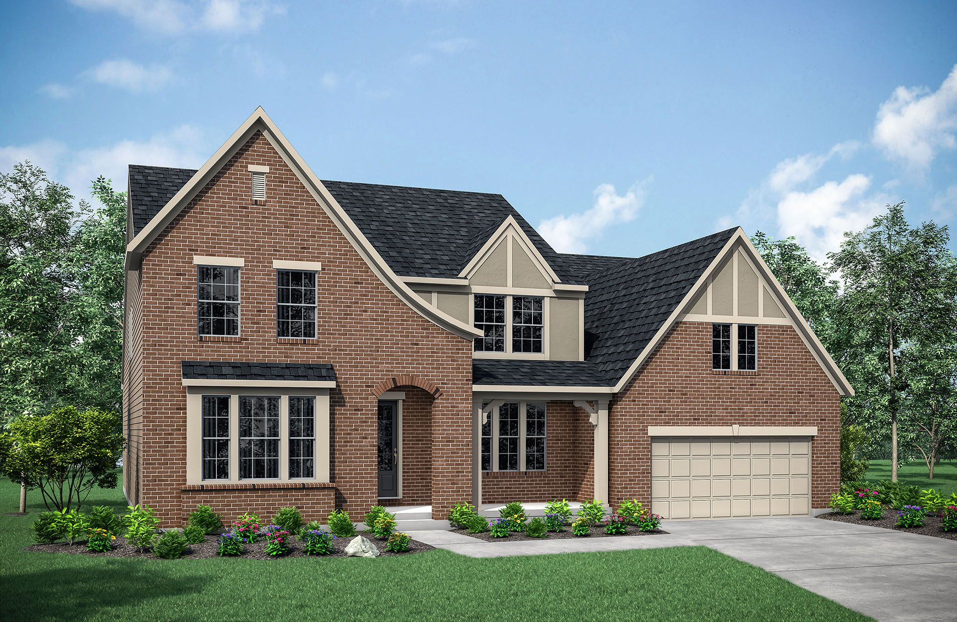 Crestwood B:Crestwood B with front porch