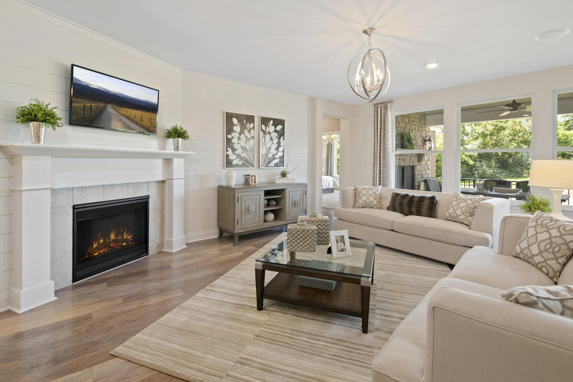 Living Area featured in the Hialeah By Drees Homes in Cincinnati, KY
