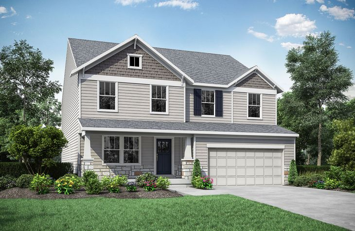 Northwood A:Northwood A with front porch