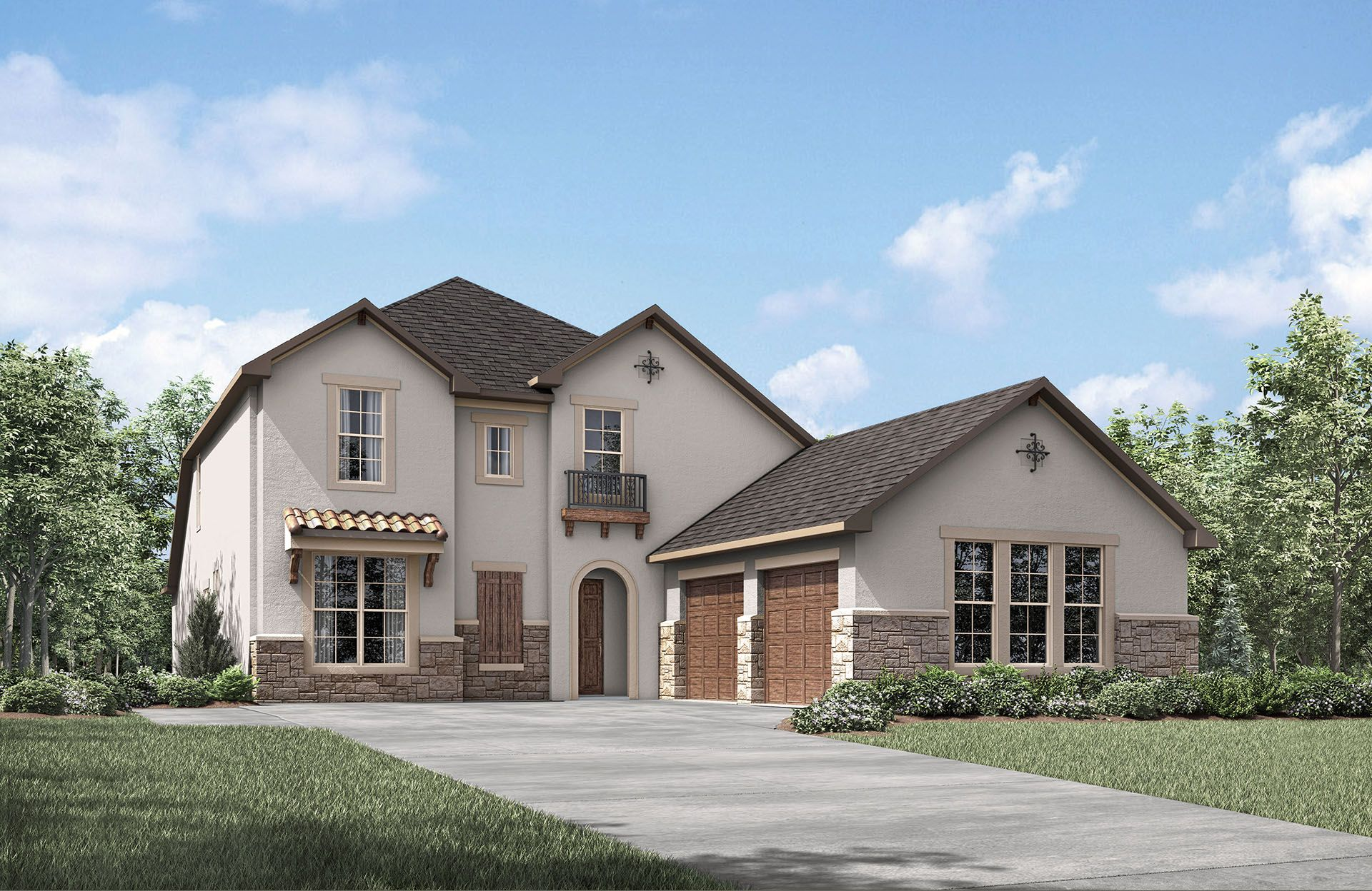 Woodtrace In Pinehurst TX New Homes Floor Plans By Drees