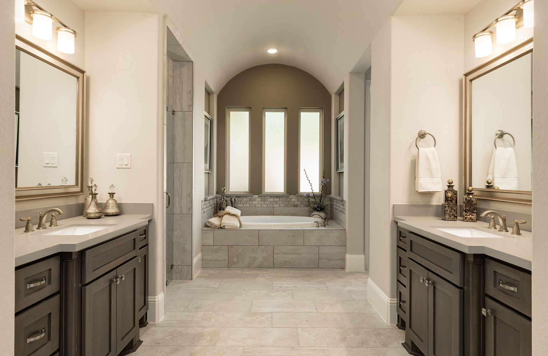 Bathroom featured in the Castella II By Drees Custom Homes in Houston, TX
