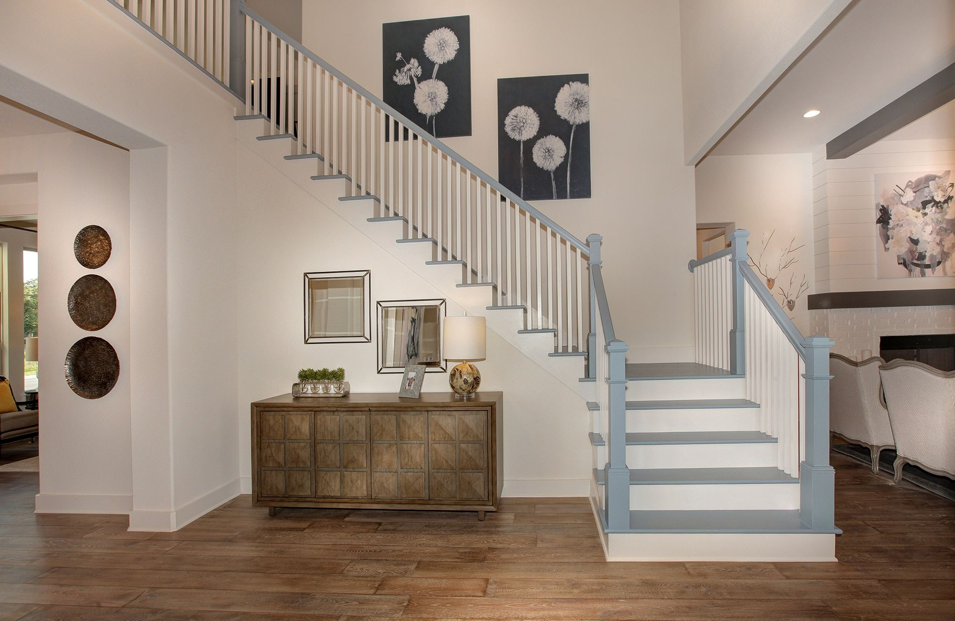 Living Area featured in the Tanner By Drees Custom Homes in Austin, TX