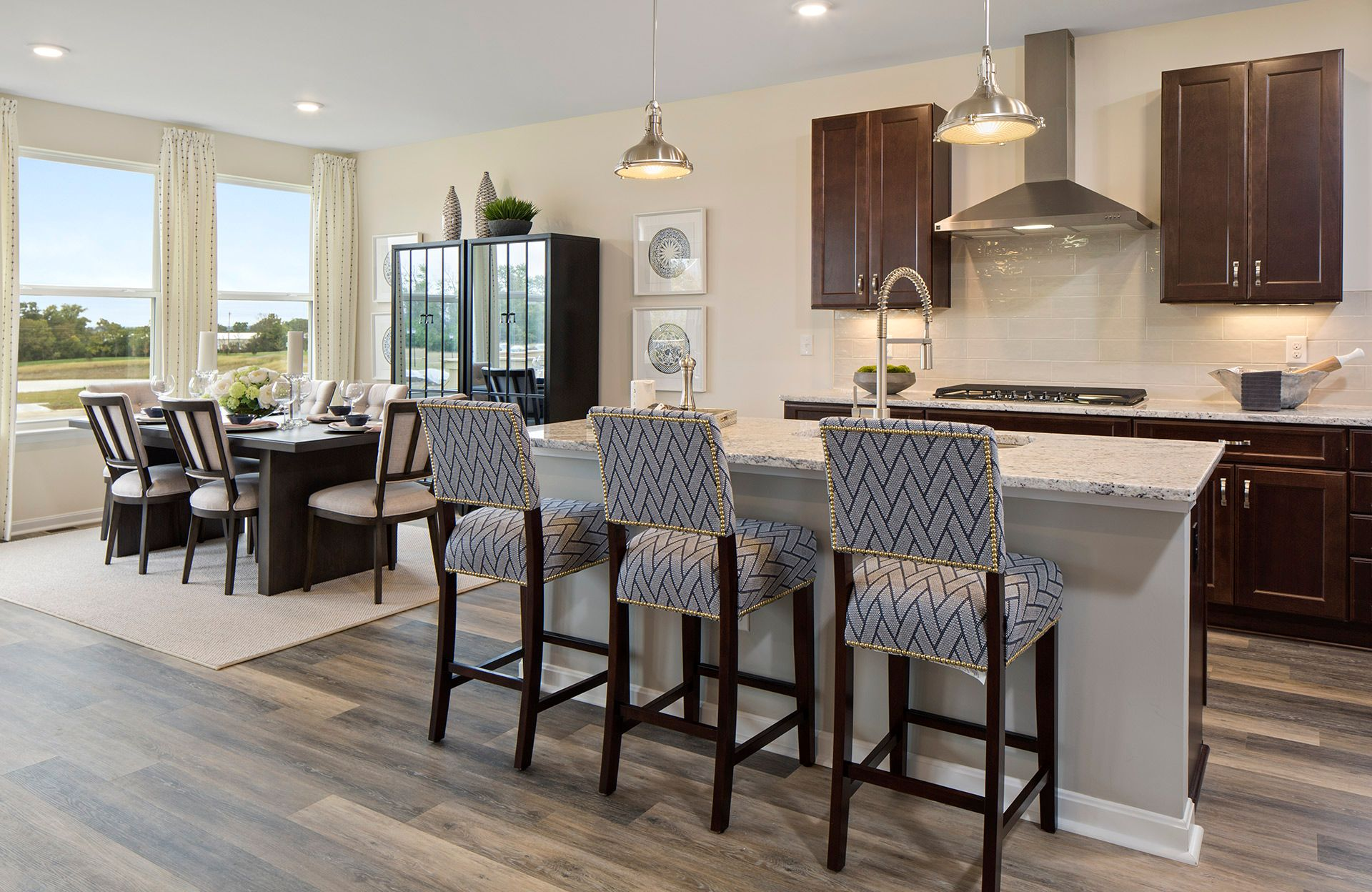 Kitchen featured in the Beachwood By Drees Homes in Cincinnati, OH