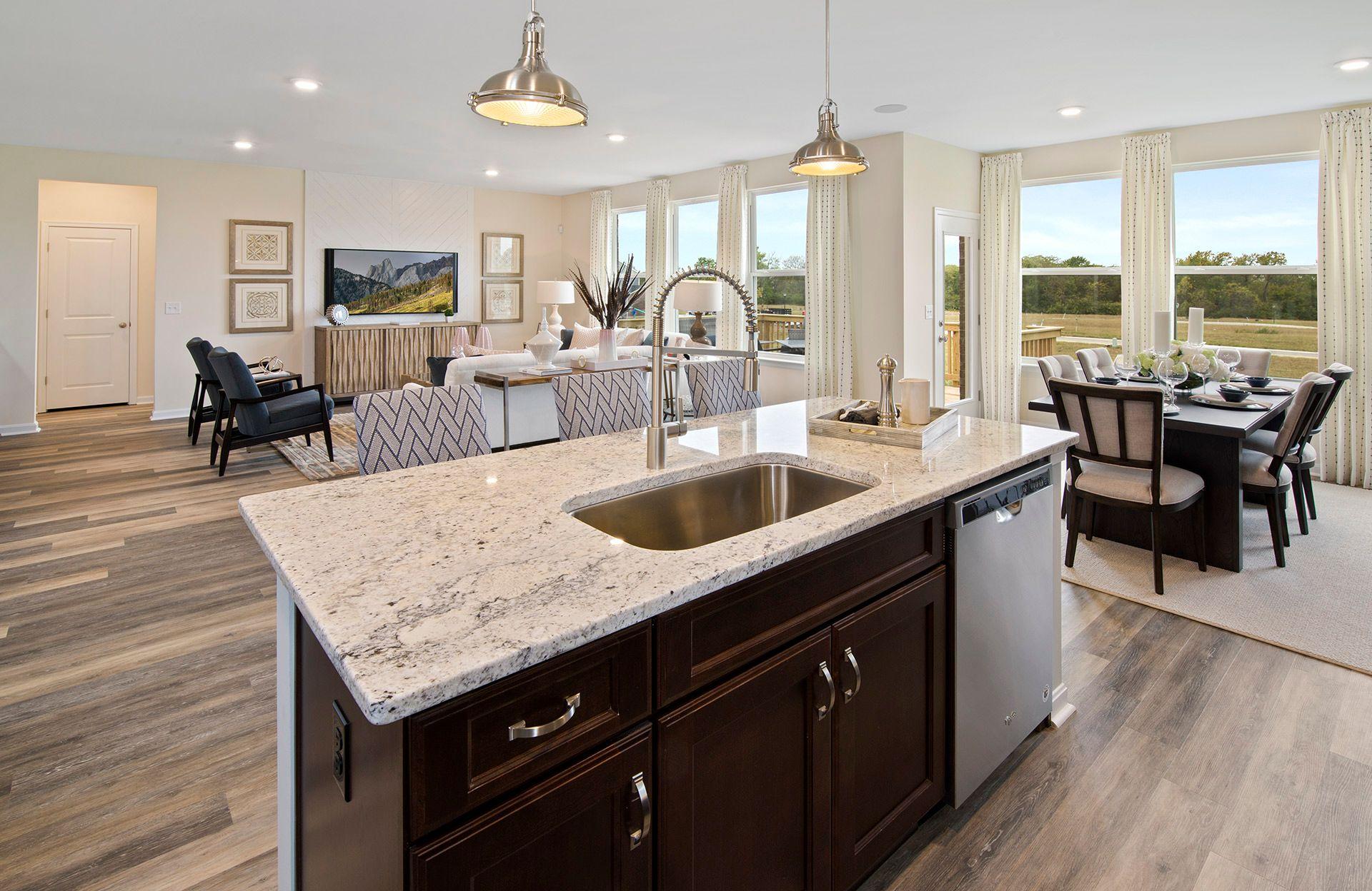 Living Area featured in the Beachwood By Drees Homes in Cincinnati, OH