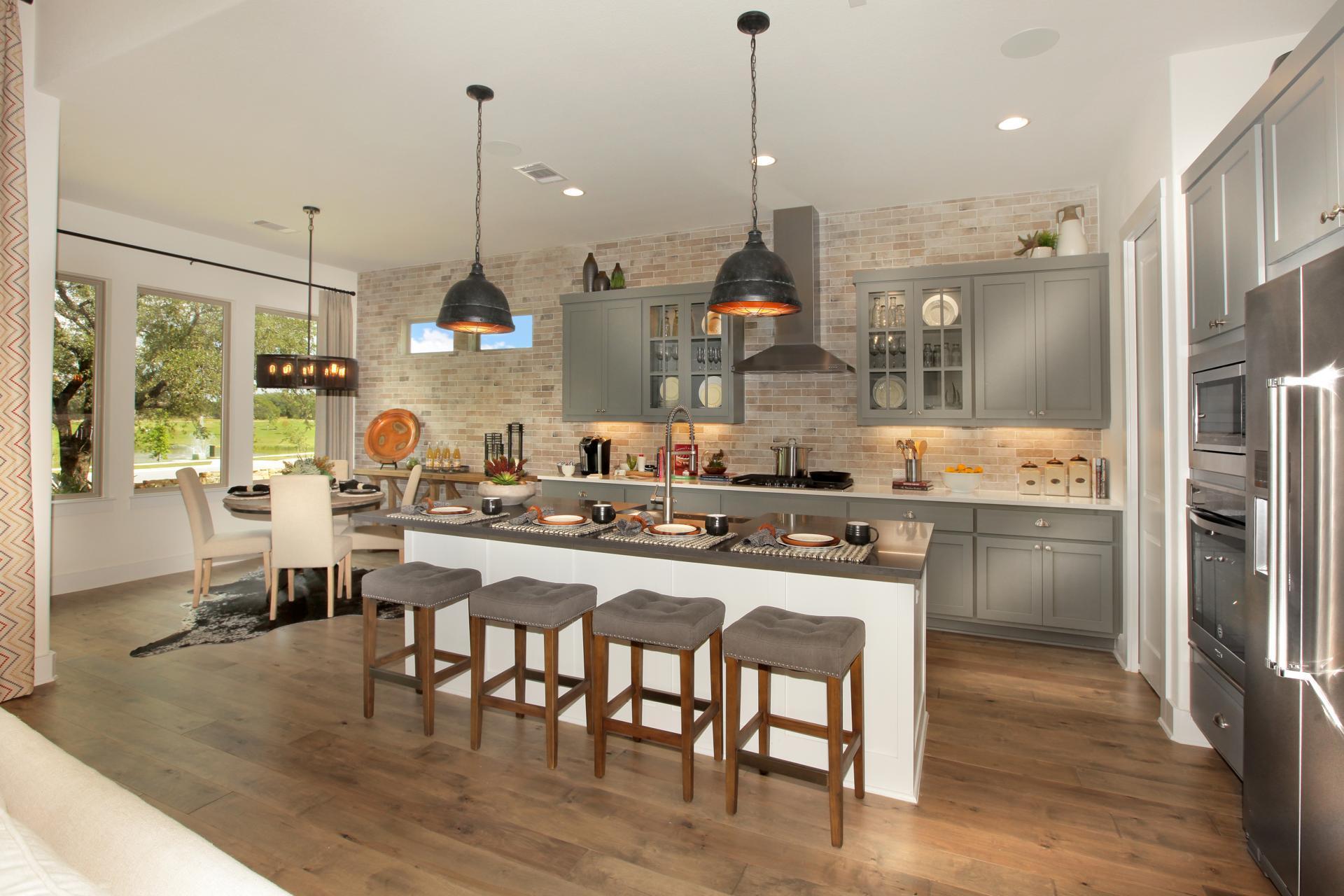Kitchen-in-Sumlin-at-Wolf Ranch-in-Georgetown