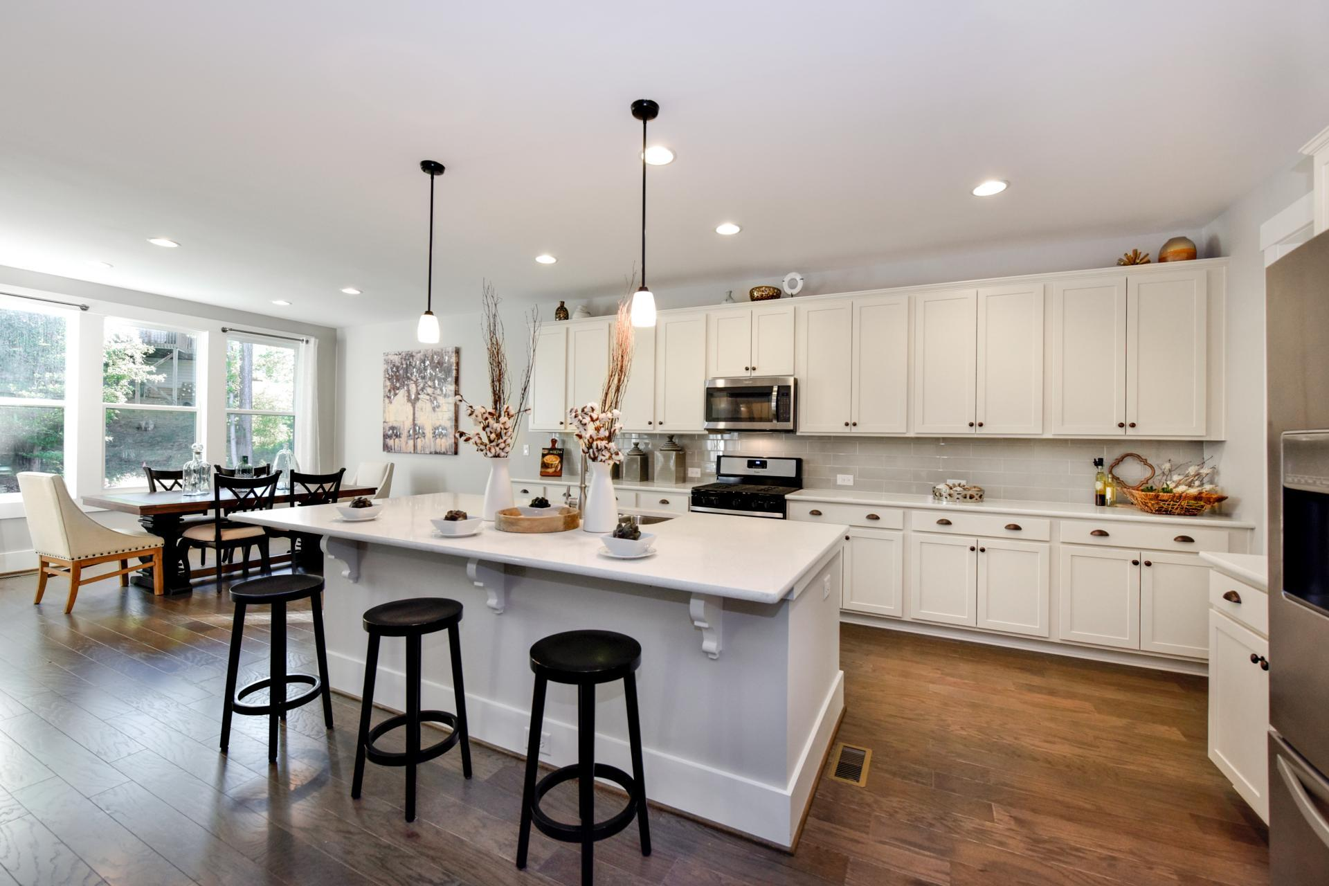 Kitchen-in-Woodbury-at-Valley Springs-in-Durham