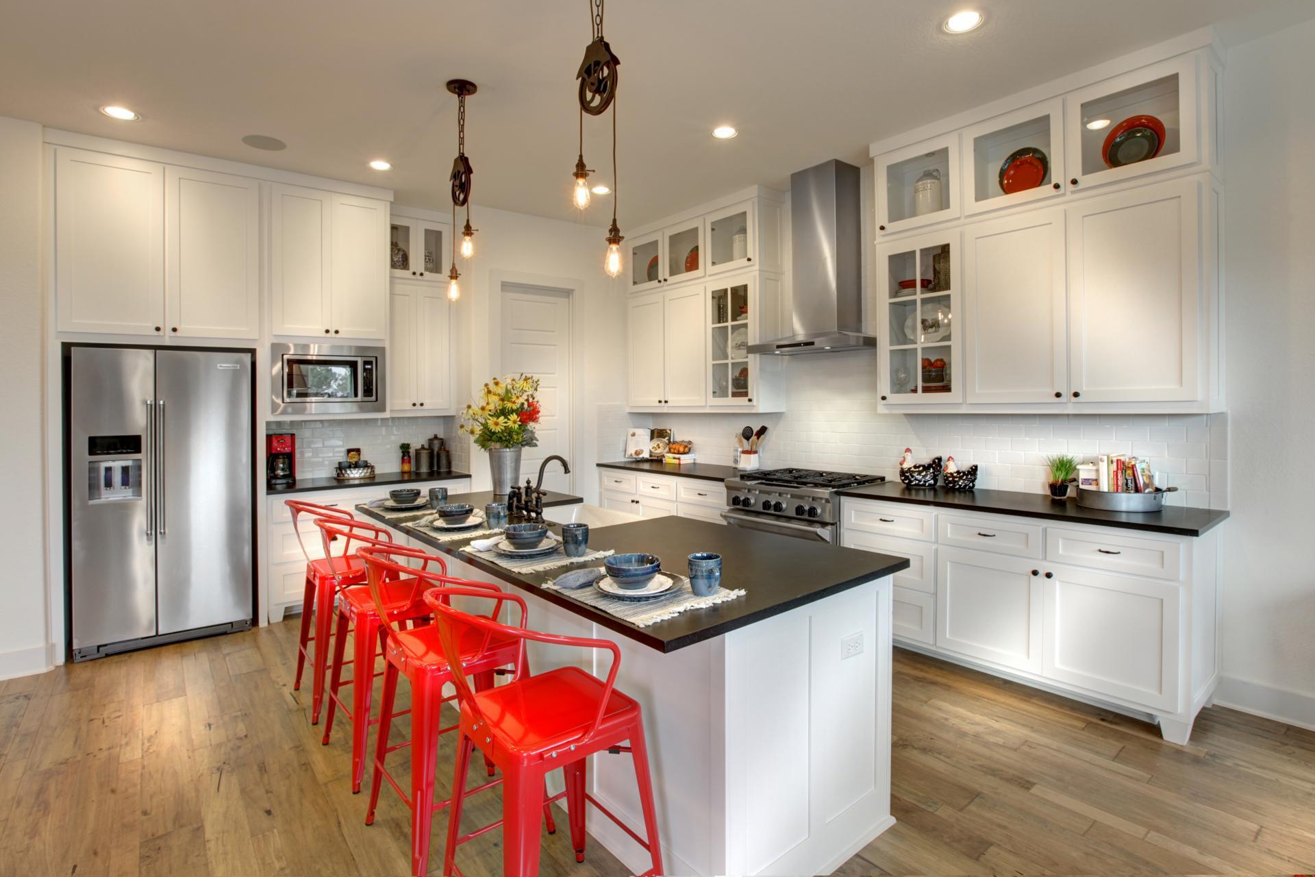 Kitchen-in-Archer-at-Summer Lakes-in-Rosenberg