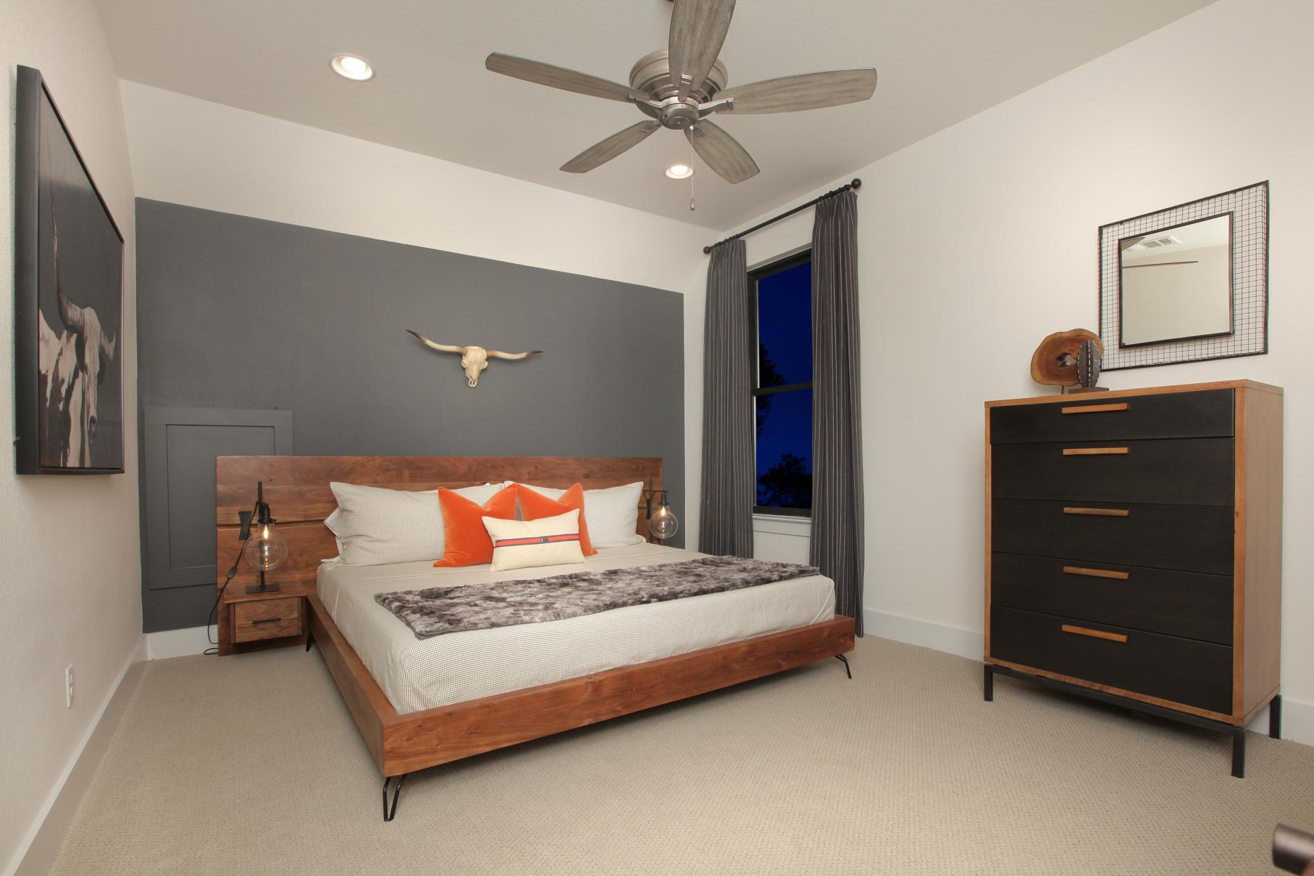 Bedroom featured in the Grantley By Drees Custom Homes in Austin, TX