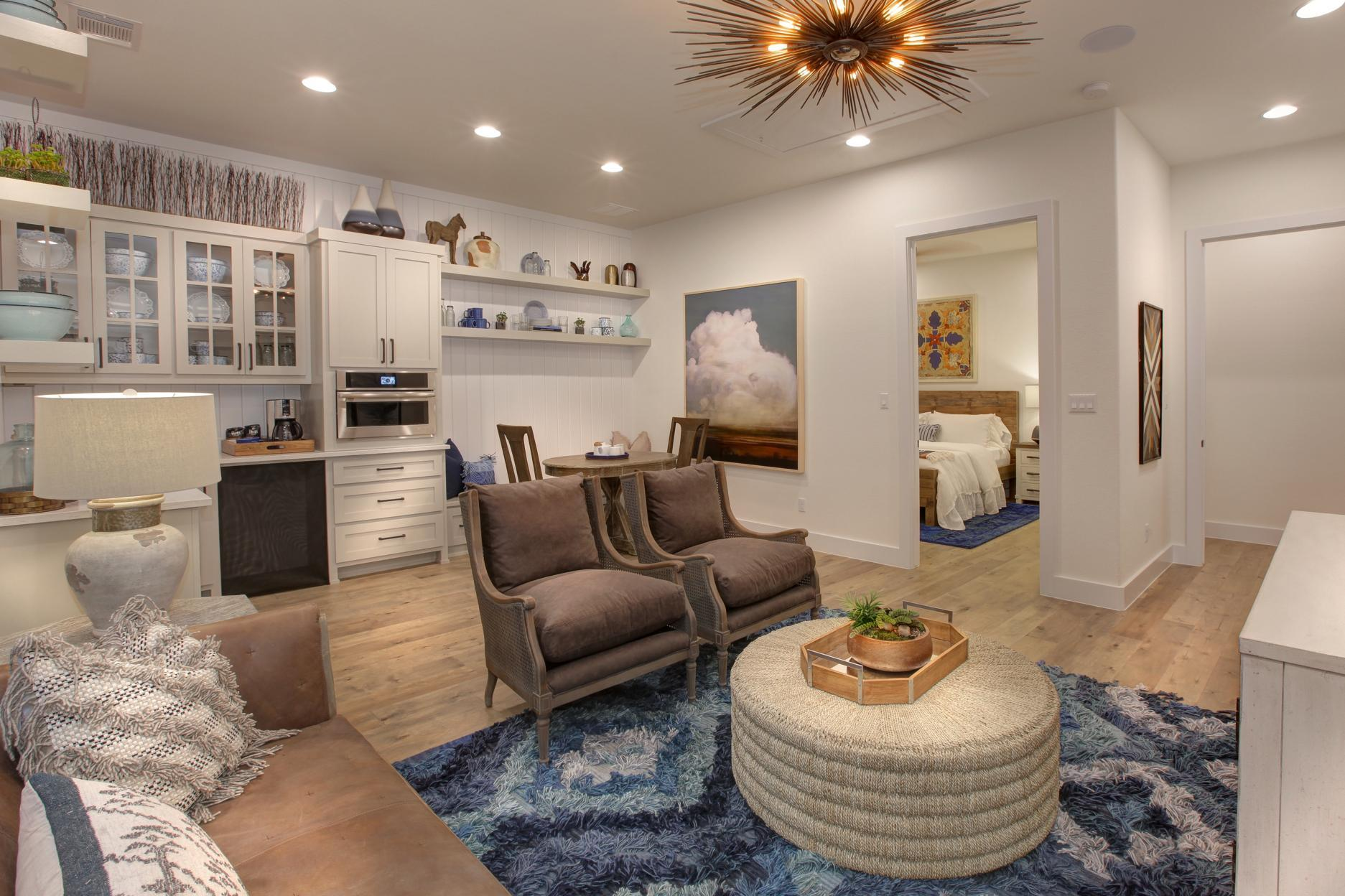 Living Area featured in the Grantley By Drees Custom Homes in Austin, TX