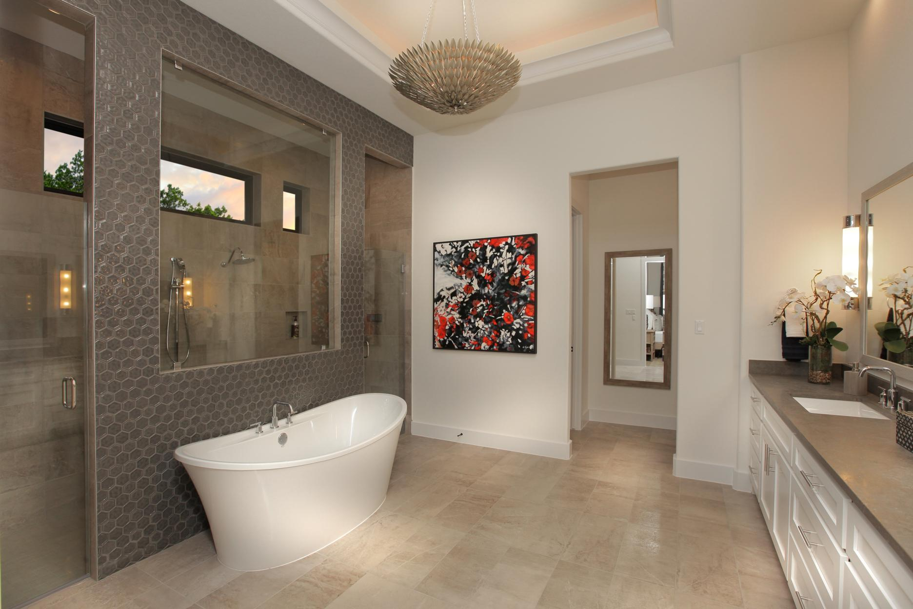 Bathroom featured in the Grantley By Drees Custom Homes in Austin, TX