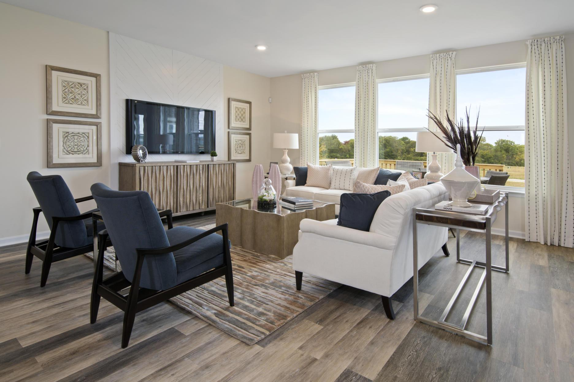 Living Area featured in the Beachwood By Drees Homes in Cincinnati, KY