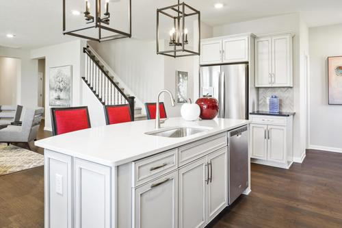 Kitchen-in-Vanderburgh-at-Oak Ridge at Tipton Lakes-in-Columbus