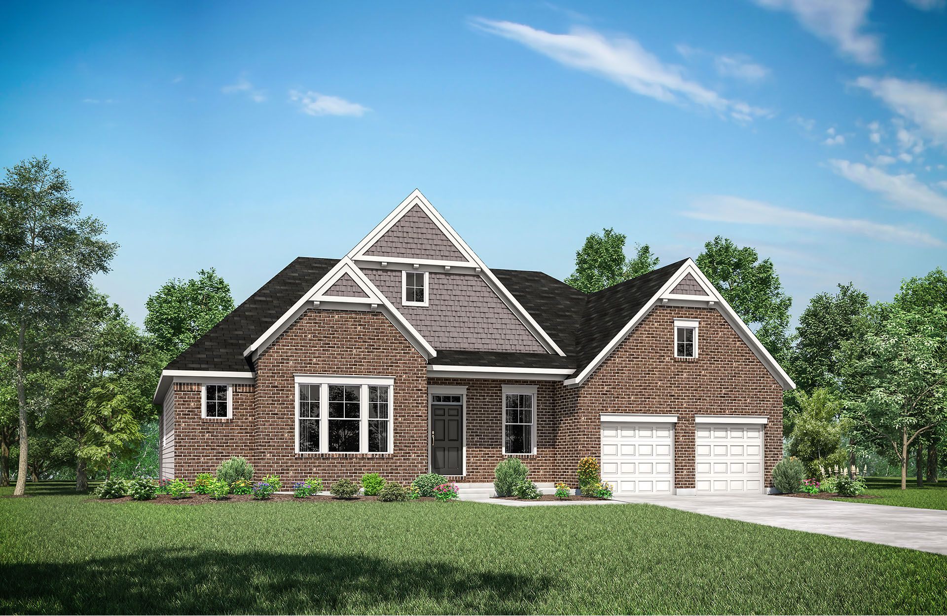 Exterior featured in the Lyndhurst By Drees Homes in Cincinnati, OH