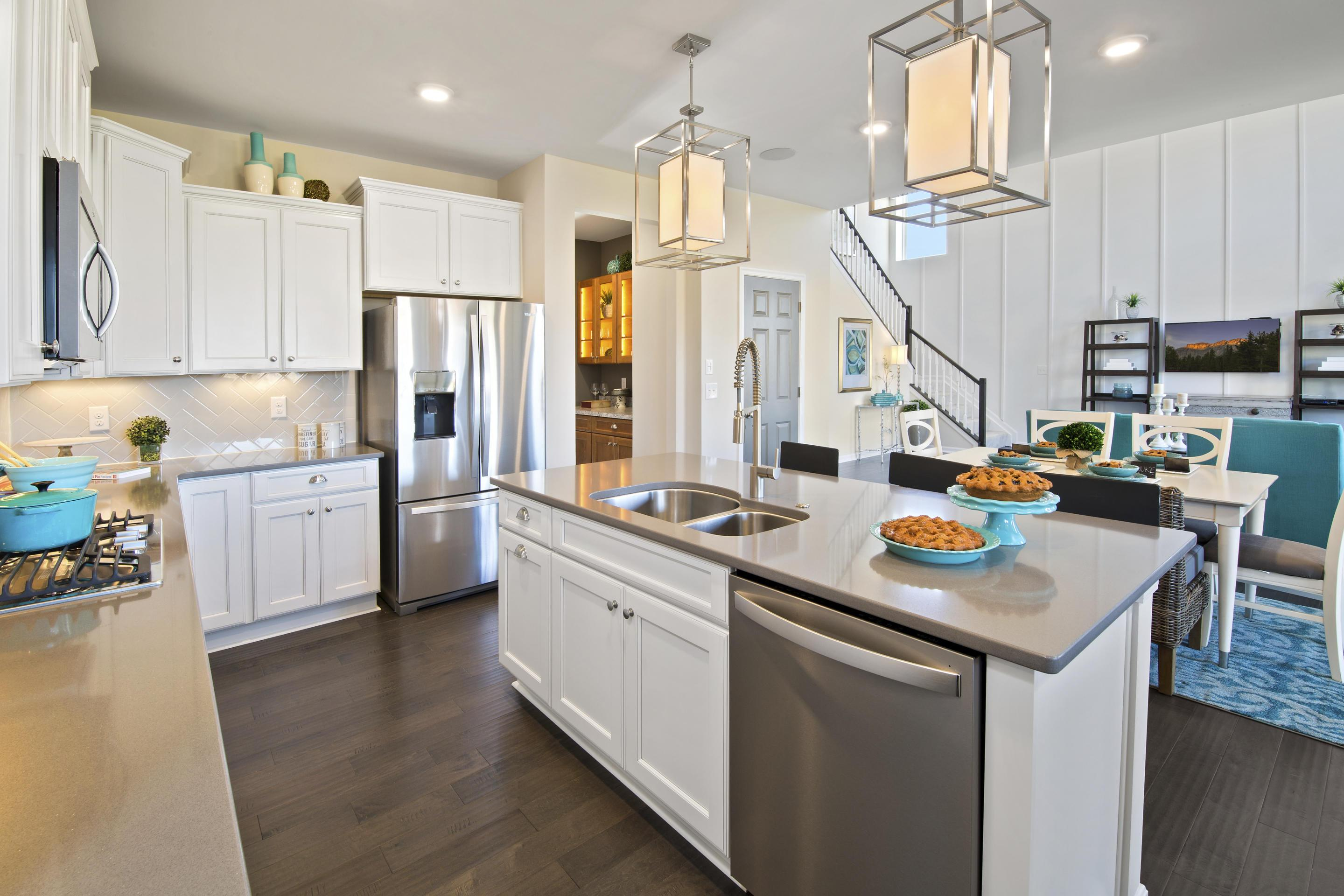Kitchen-in-Buchanan-at-The Reserves of Carmelle-in-Mason