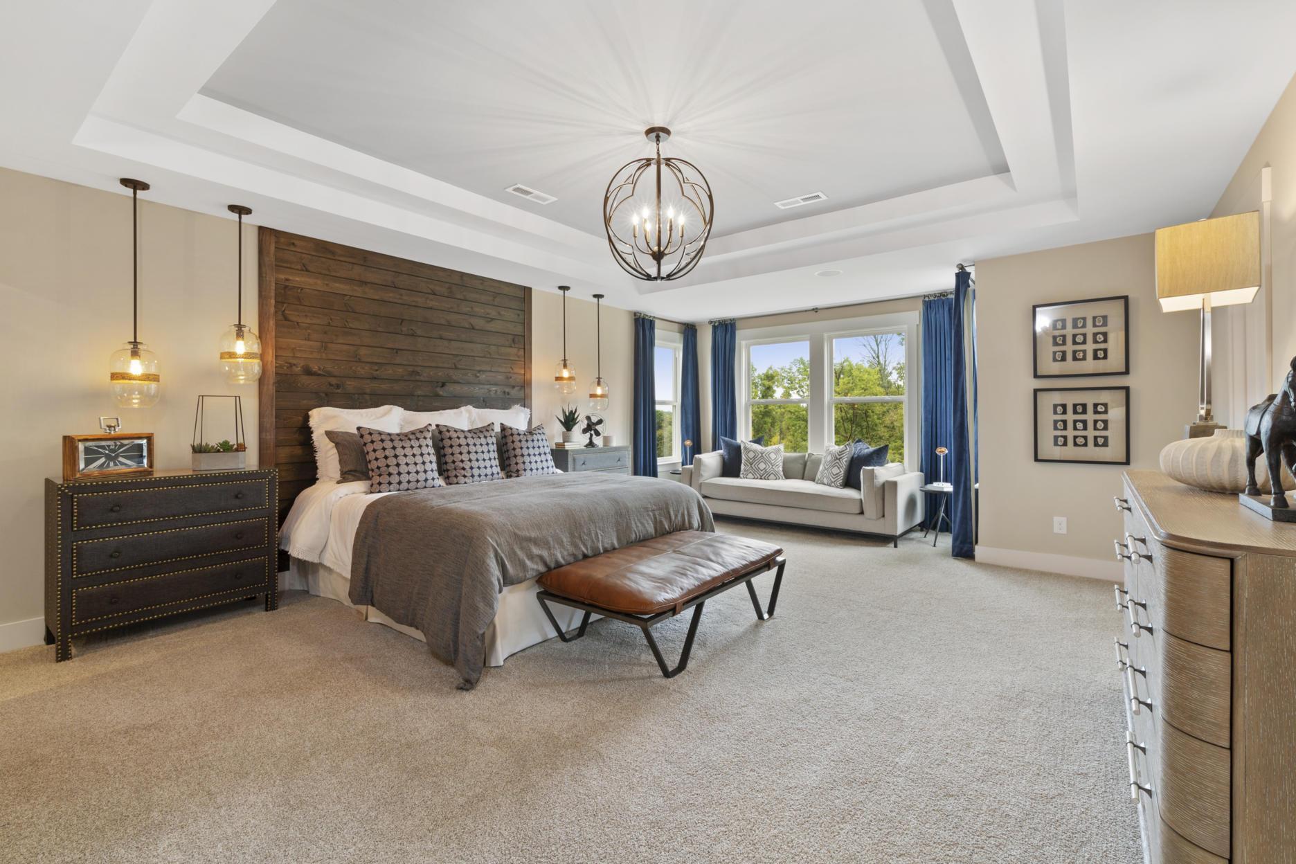Bedroom featured in the Vanderburgh By Drees Homes in Cincinnati, KY