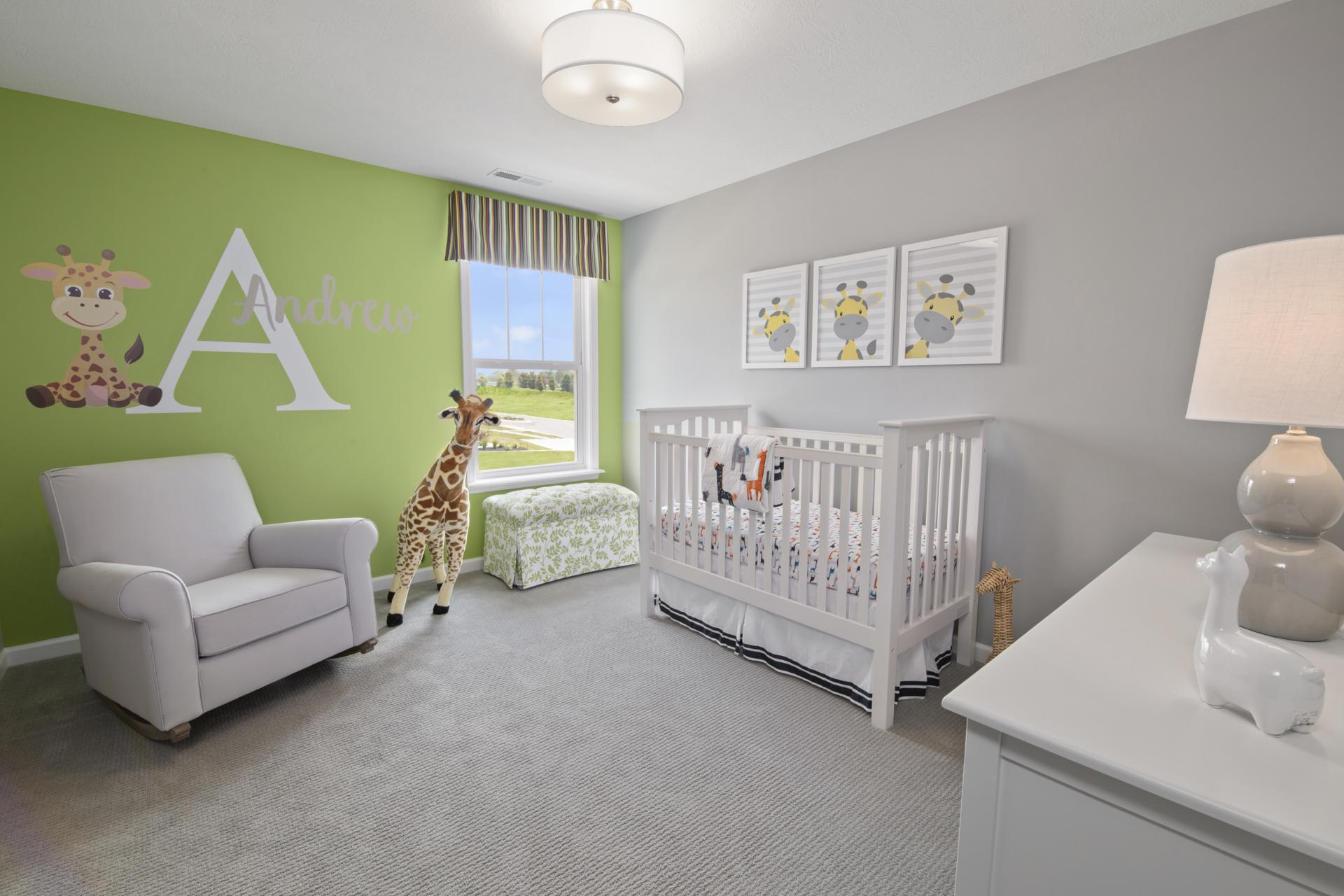 Bedroom featured in the Winfield By Drees Homes in Indianapolis, IN
