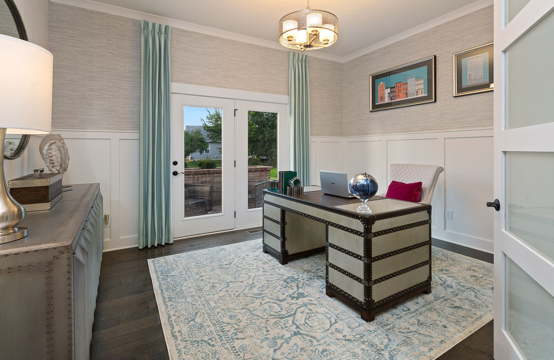 Living Area featured in the Vanderburgh By Drees Homes in Cleveland, OH