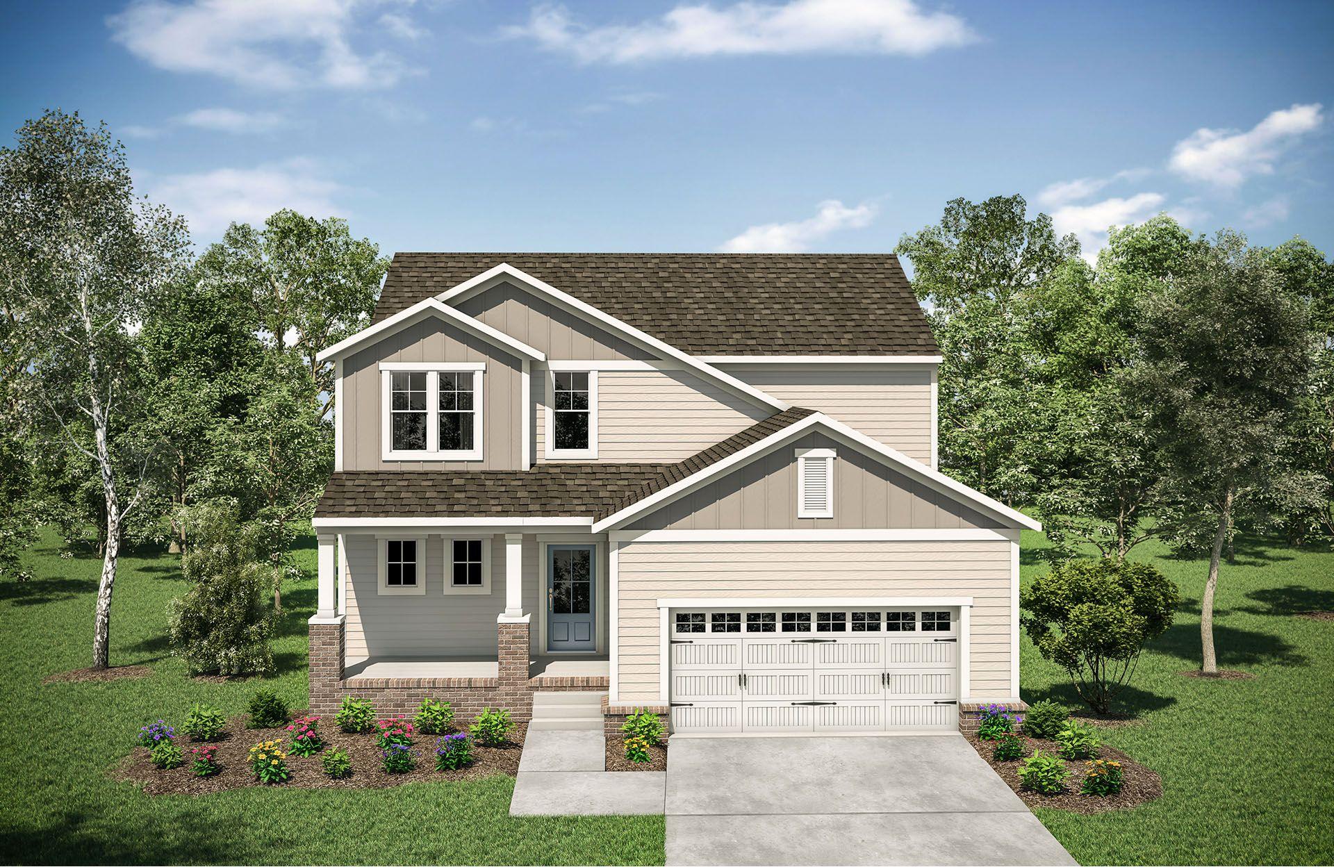 Ashland A:Ashland A with front porch