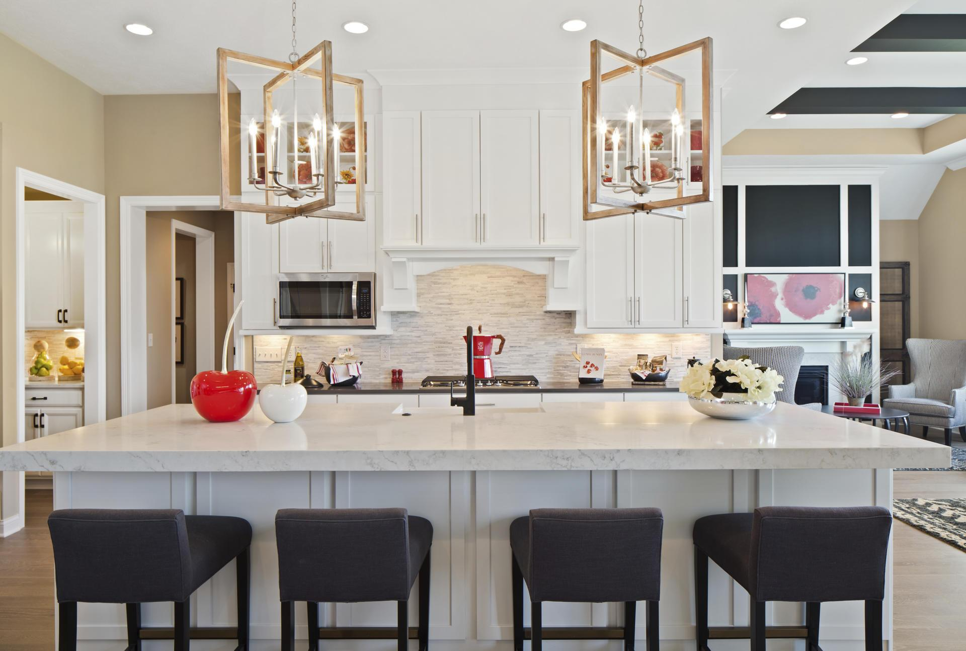 Kitchen featured in the Crestwood By Drees Homes in Indianapolis, IN