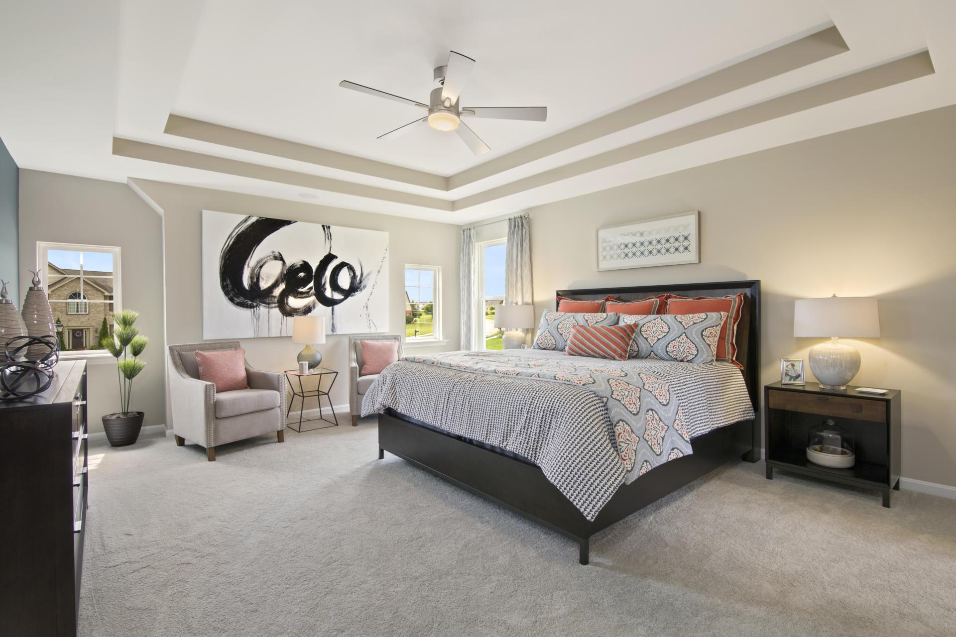 Bedroom featured in the Quentin By Drees Homes in Cincinnati, KY