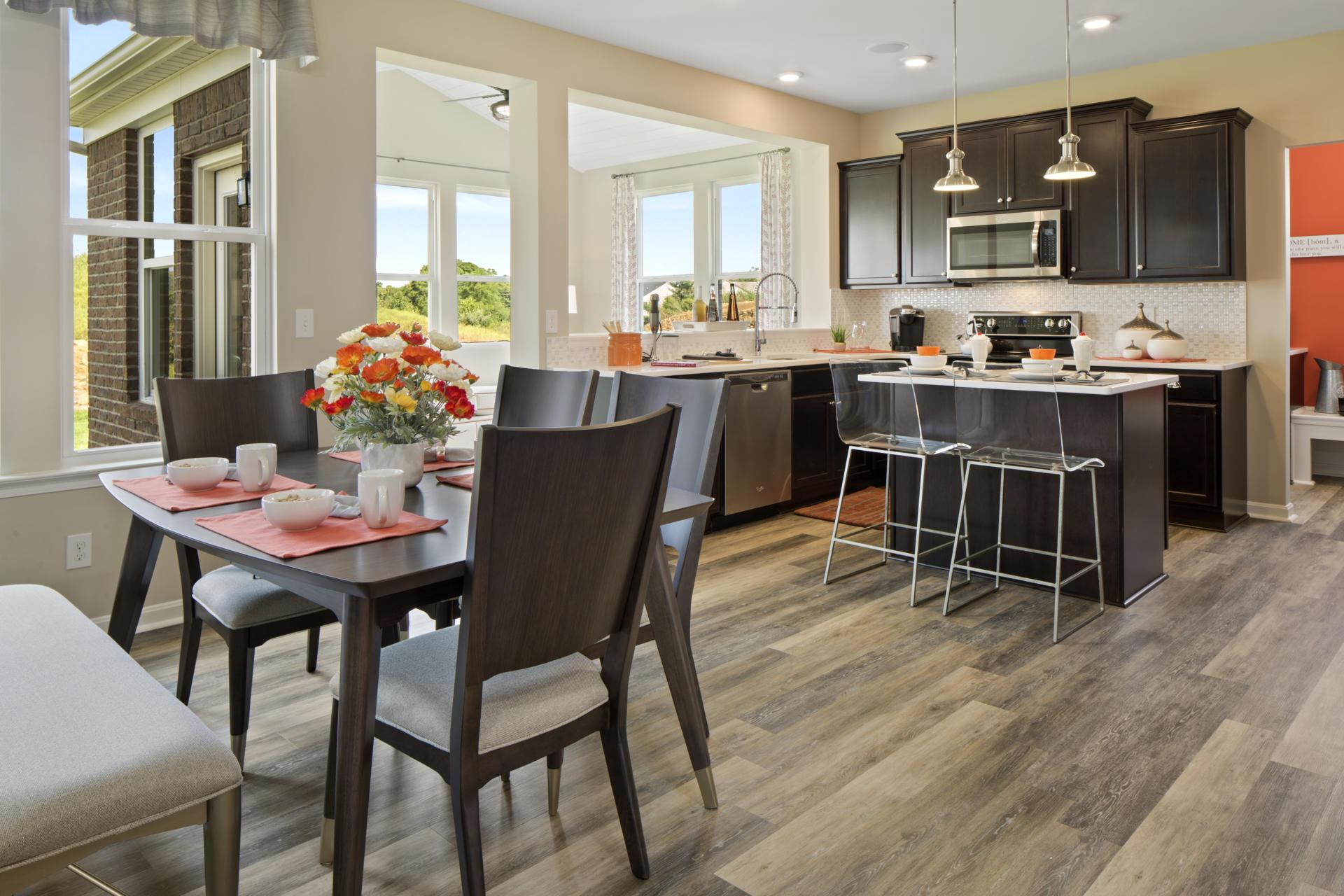 Kitchen featured in the Quentin By Drees Homes in Cincinnati, KY
