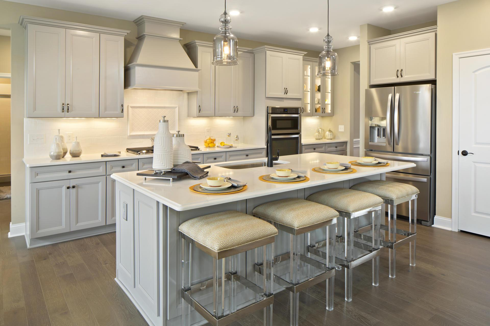 Kitchen featured in the Ash Lawn By Drees Homes in Cleveland, OH