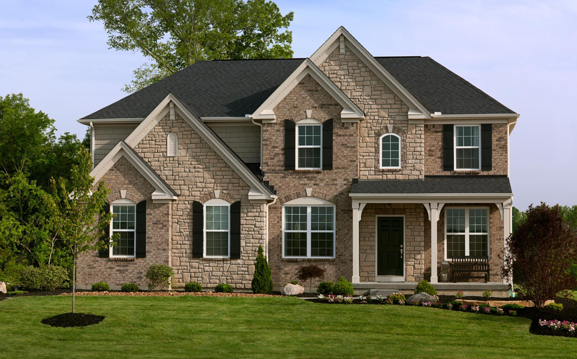 Exterior featured in the Buchanan By Drees Homes in Cincinnati, OH