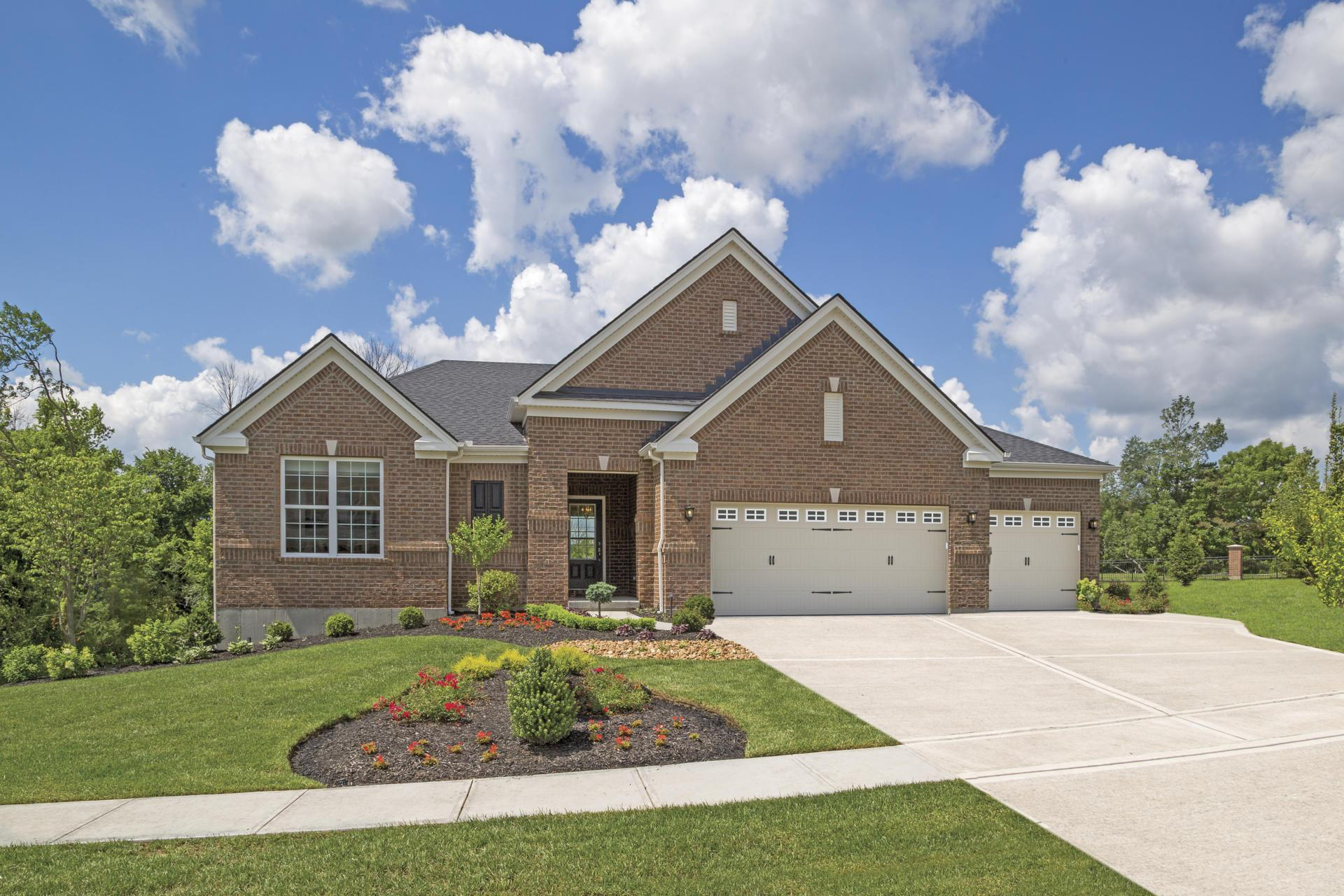 'Triple Crown - Saratoga Springs' by Drees Homes in Cincinnati