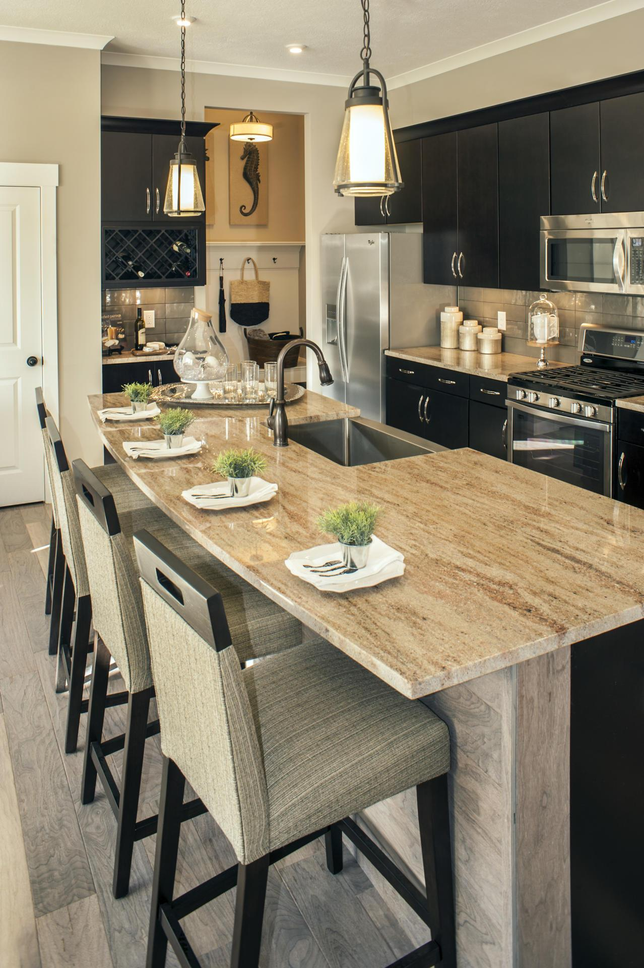 Kitchen featured in the Chester By Drees Homes in Cleveland, OH