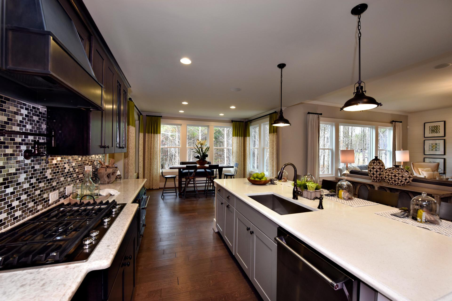 Kitchen featured in the Ash Lawn By Drees Homes in Raleigh-Durham-Chapel Hill, NC