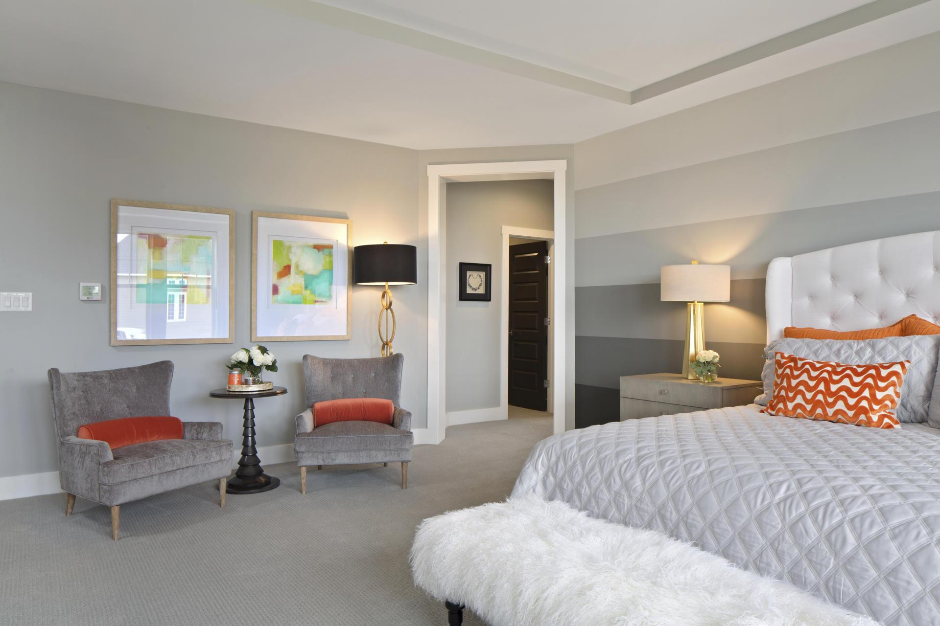 Bedroom featured in the Monticello By Drees Homes in Cleveland, OH