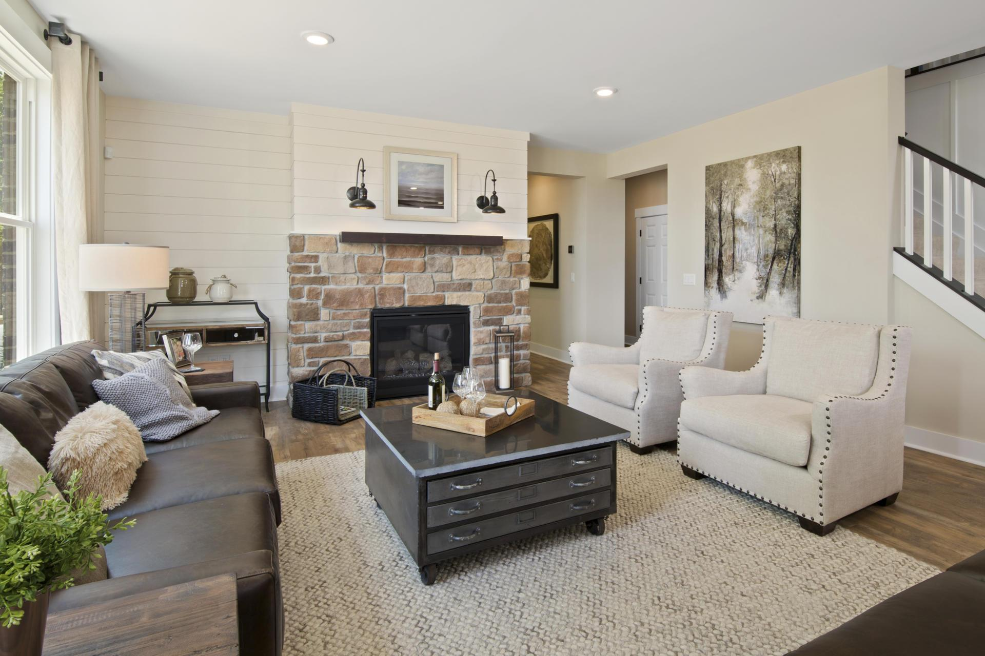Living Area featured in the Vanderburgh By Drees Homes in Indianapolis, IN
