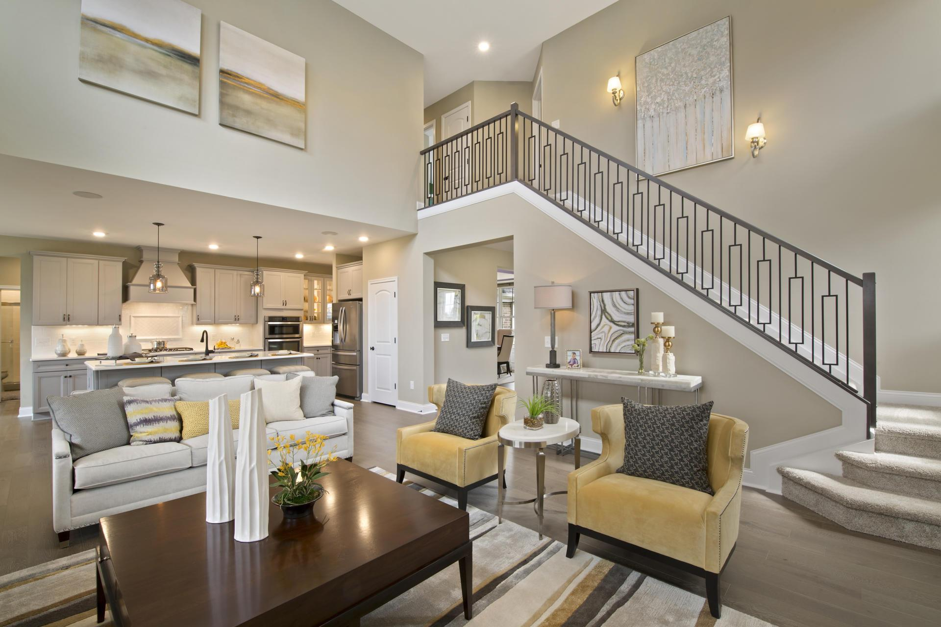 Living Area featured in the Ash Lawn By Drees Homes in Cincinnati, OH