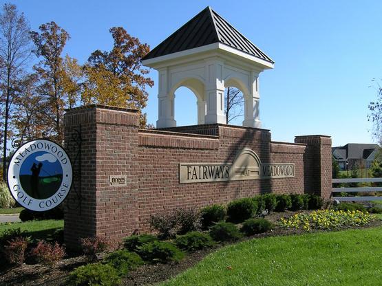 The Fairways at Meadowood Entrance