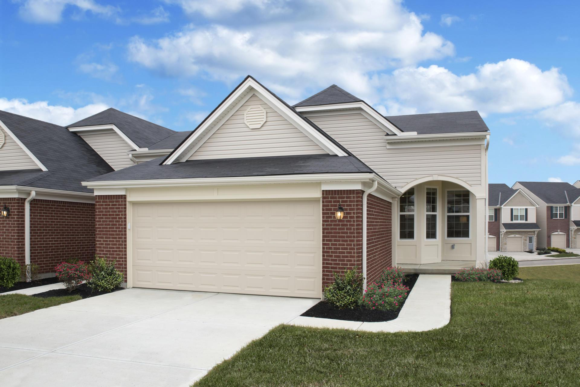 'Cantering Hills at Steeplechase Townhomes' by Drees Homes in Cincinnati