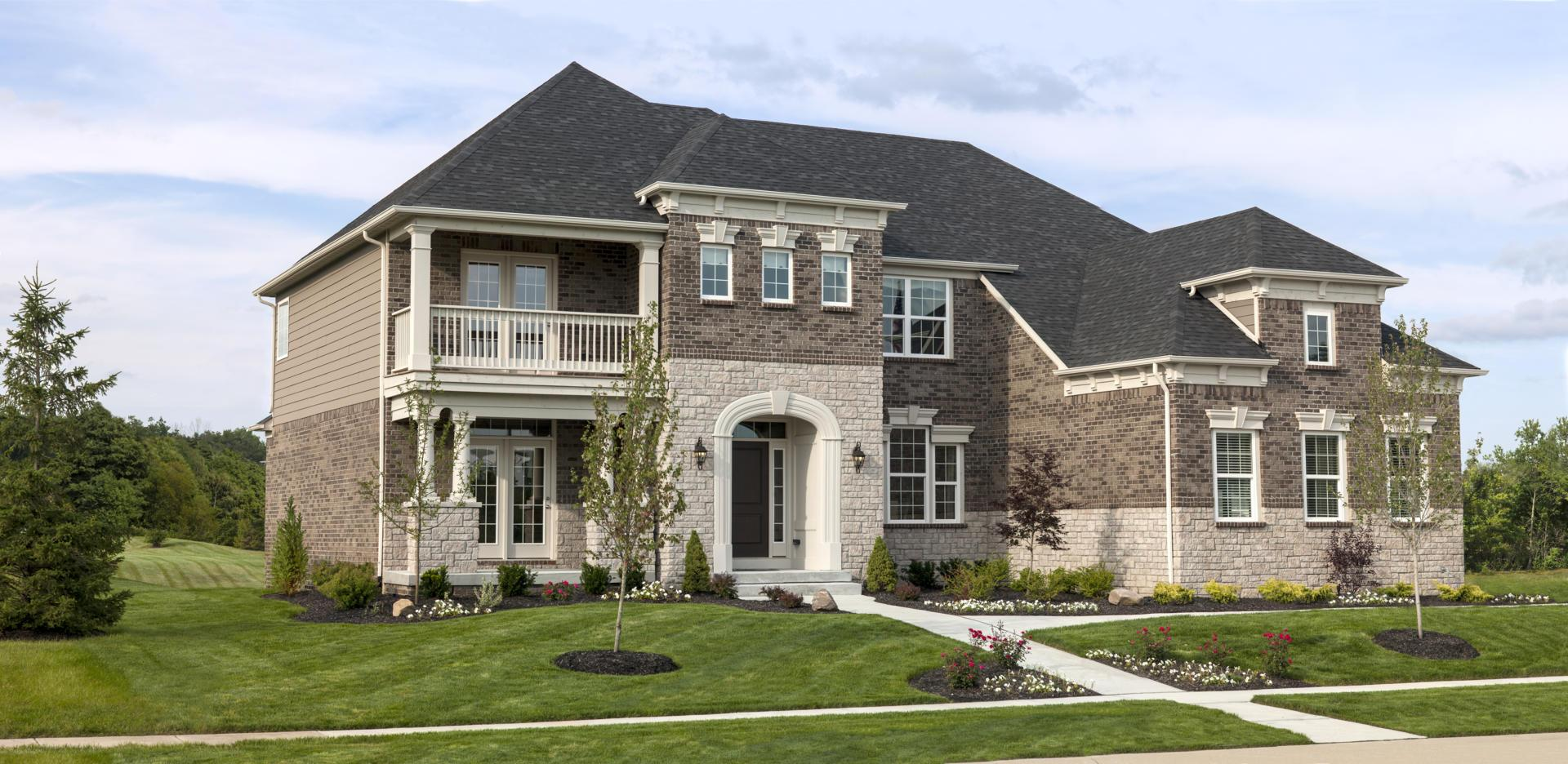 Exterior featured in the Langdon By Drees Homes in Indianapolis, IN