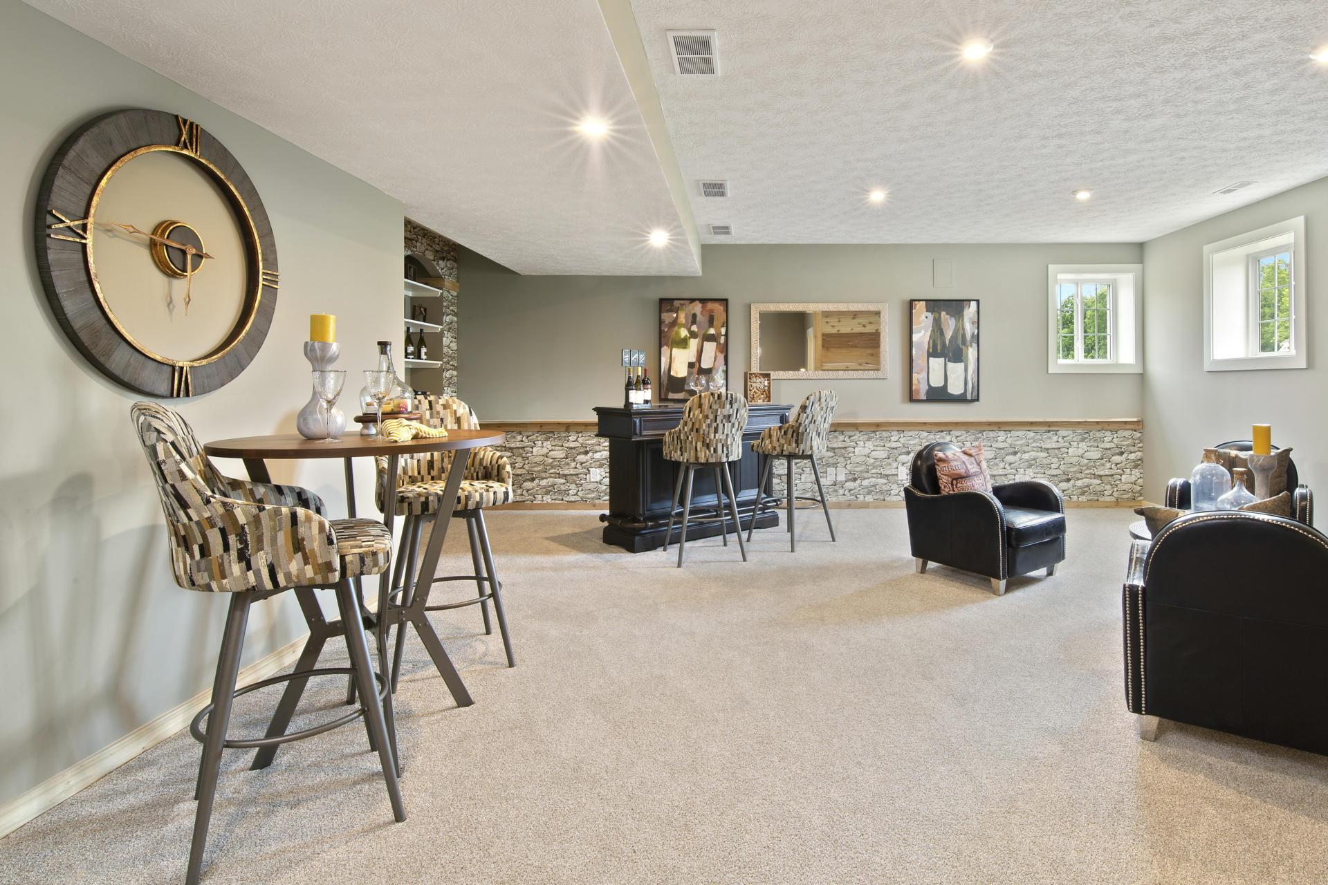 Living Area featured in the Northwood By Drees Homes in Cleveland, OH