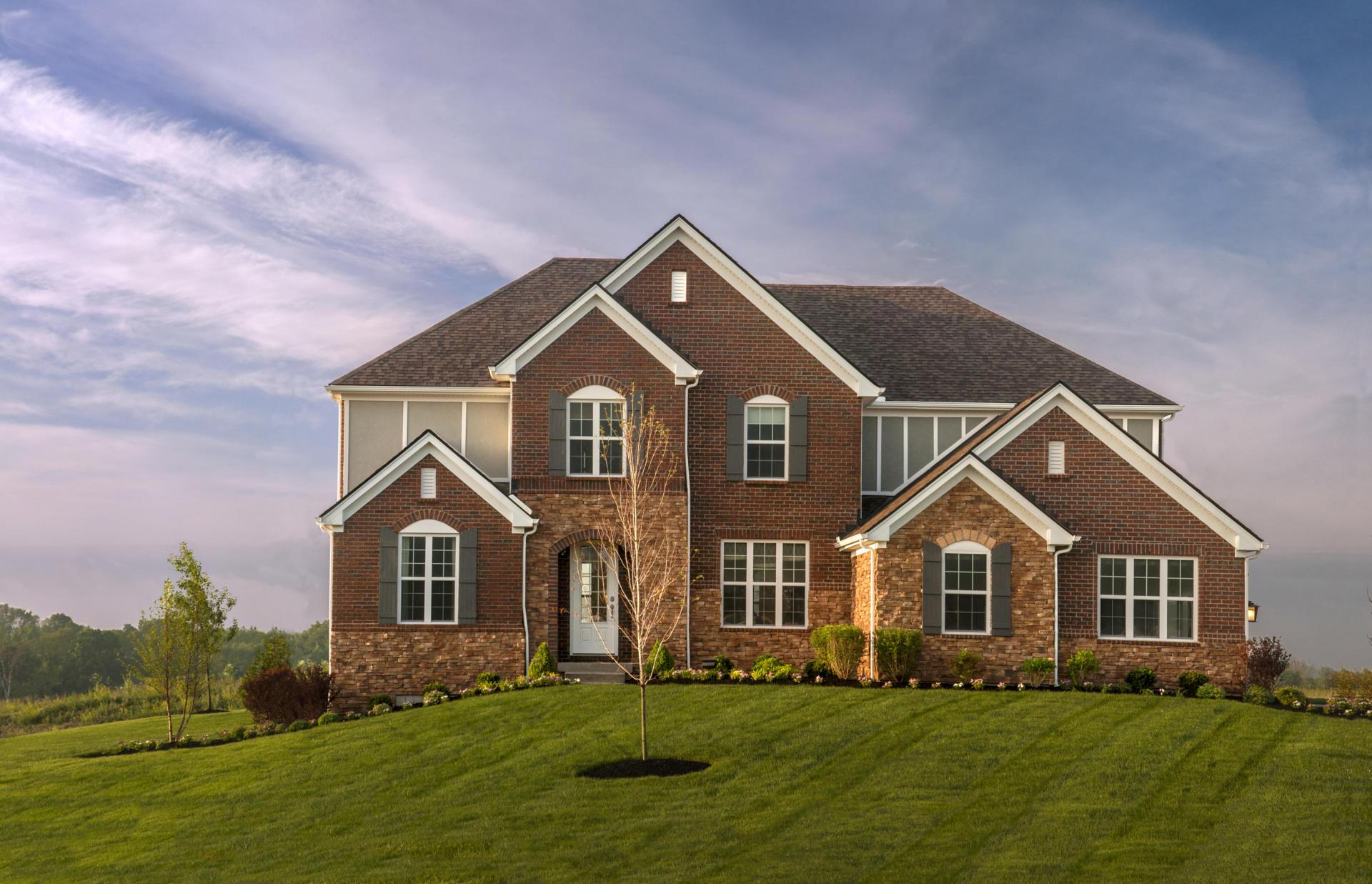 Exterior featured in the Ash Lawn By Drees Homes in Cincinnati, OH