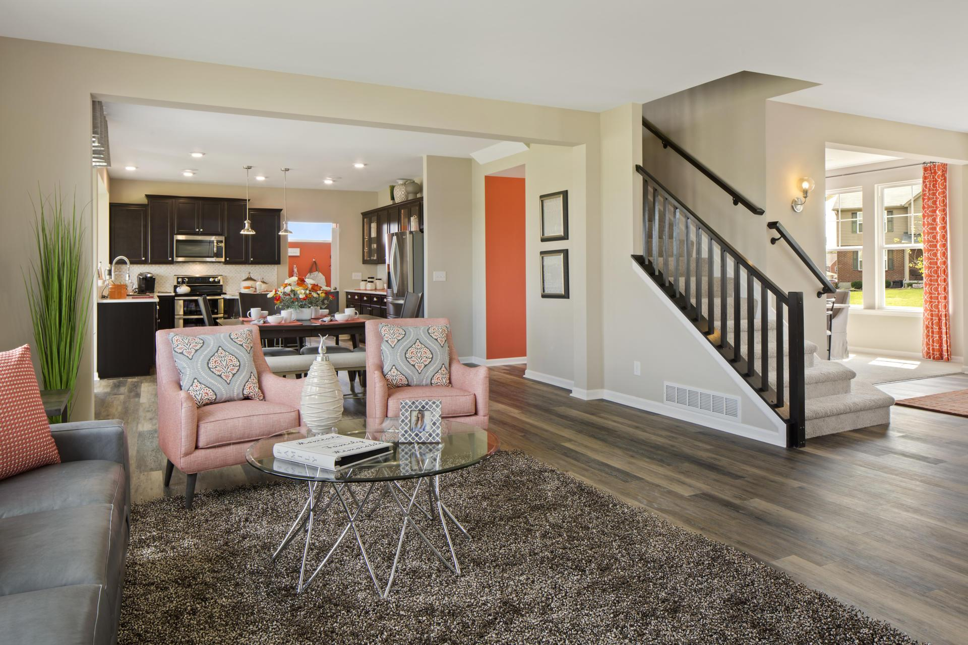 Living Area featured in the Quentin By Drees Homes in Cincinnati, KY