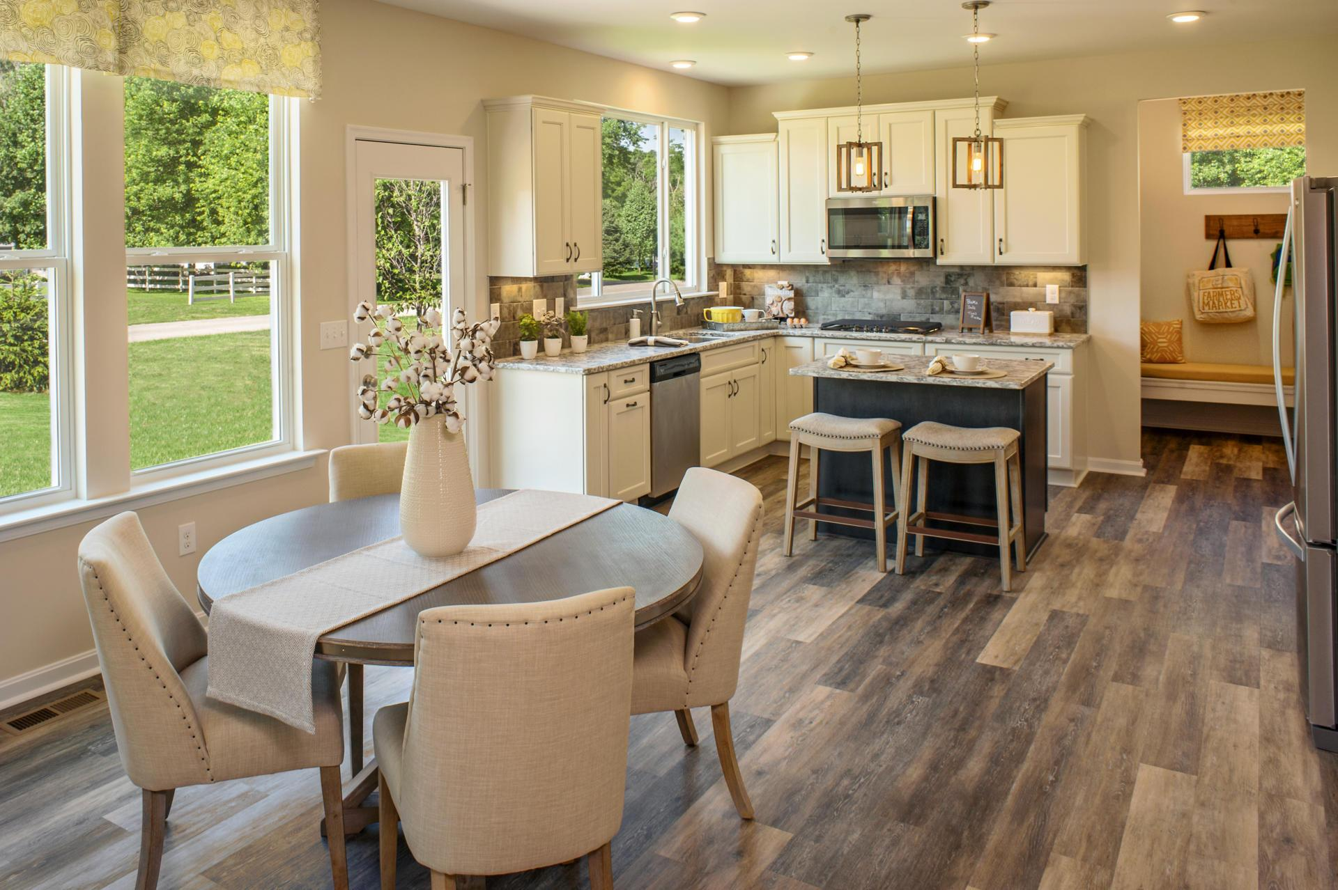 Kitchen featured in the Quentin By Drees Homes in Cincinnati, OH