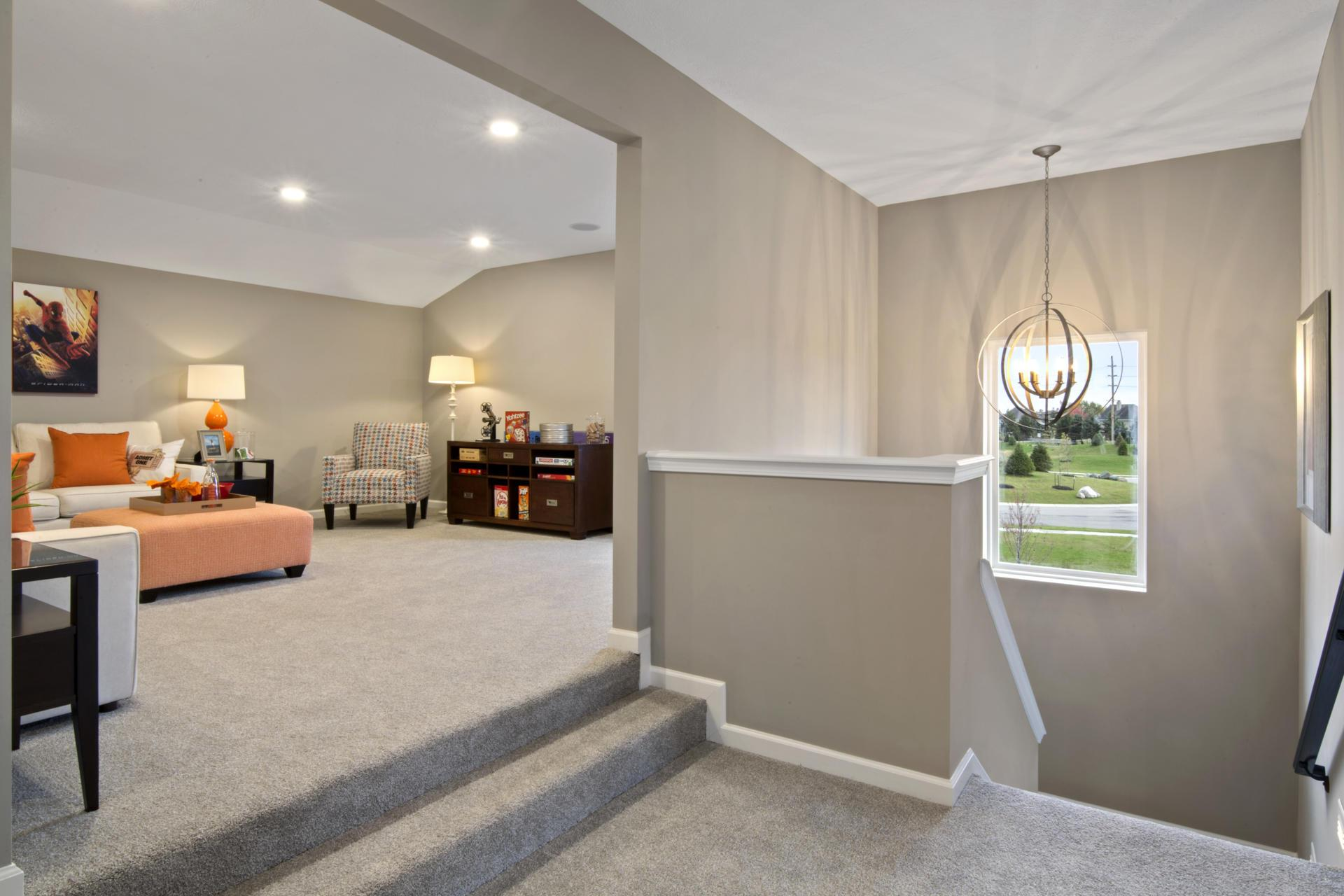 Living Area featured in the Belleville By Drees Homes in Indianapolis, IN