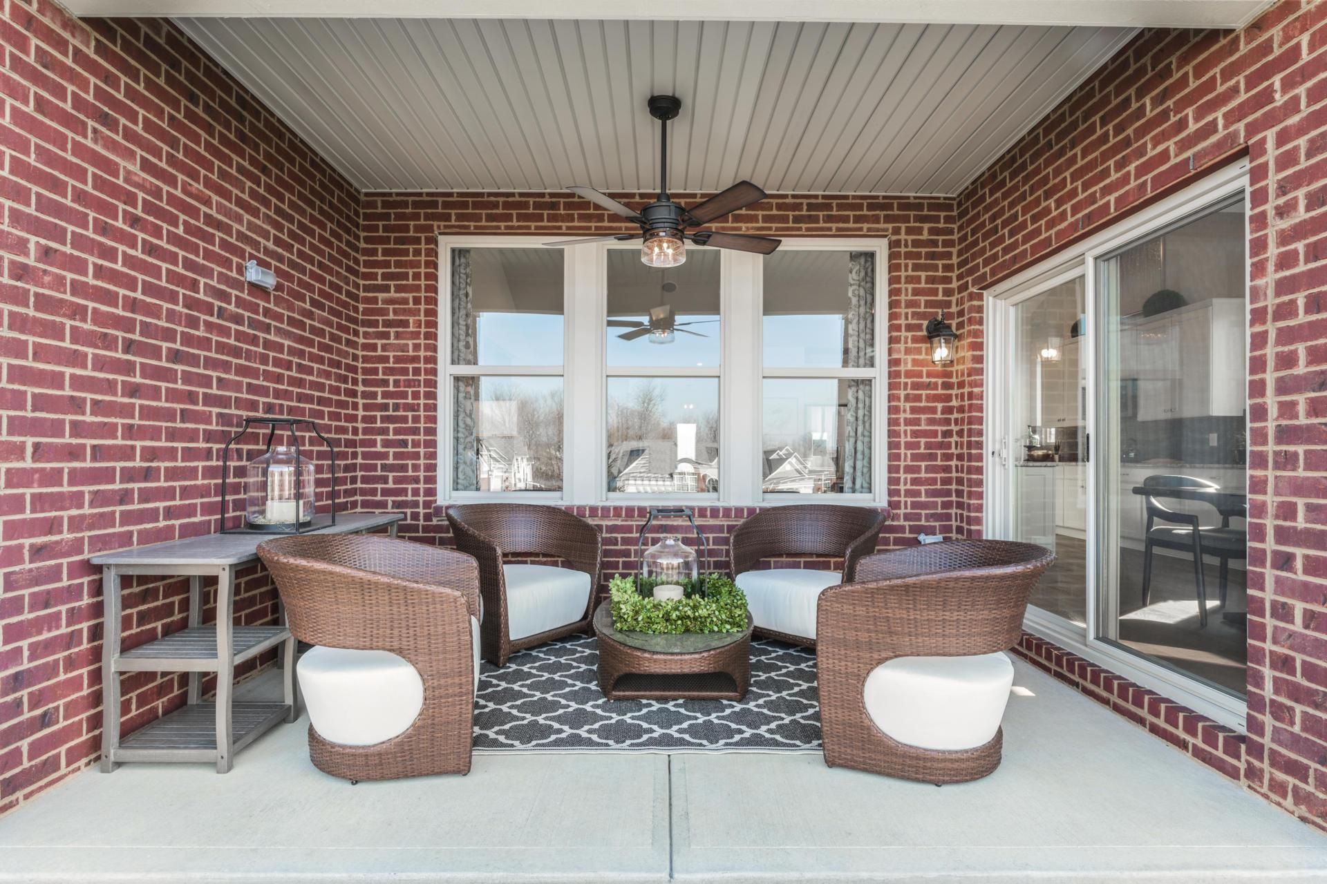 Exterior featured in the Sarasota By Drees Homes in Indianapolis, IN