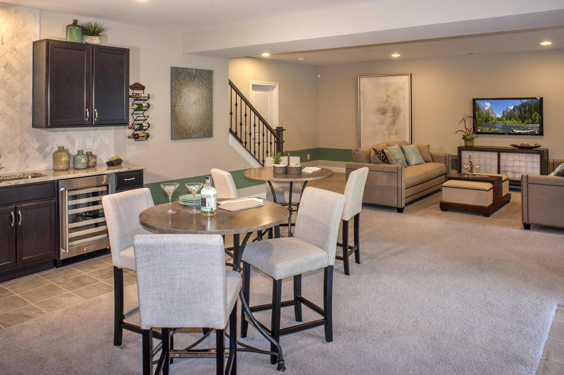 Living Area featured in the Naples By Drees Homes in Cincinnati, KY