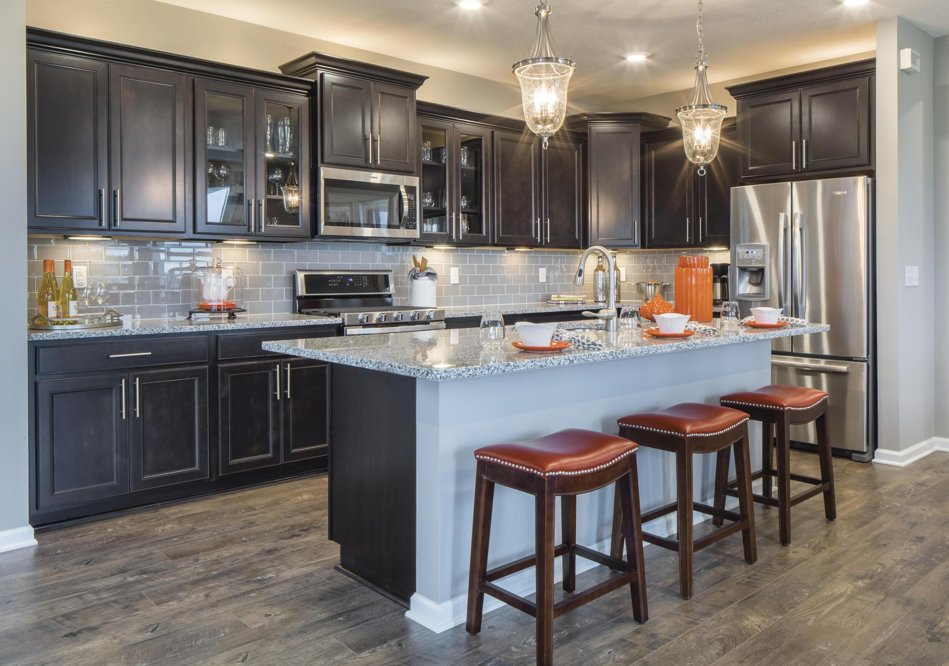 Kitchen featured in the Belleville By Drees Homes in Indianapolis, IN