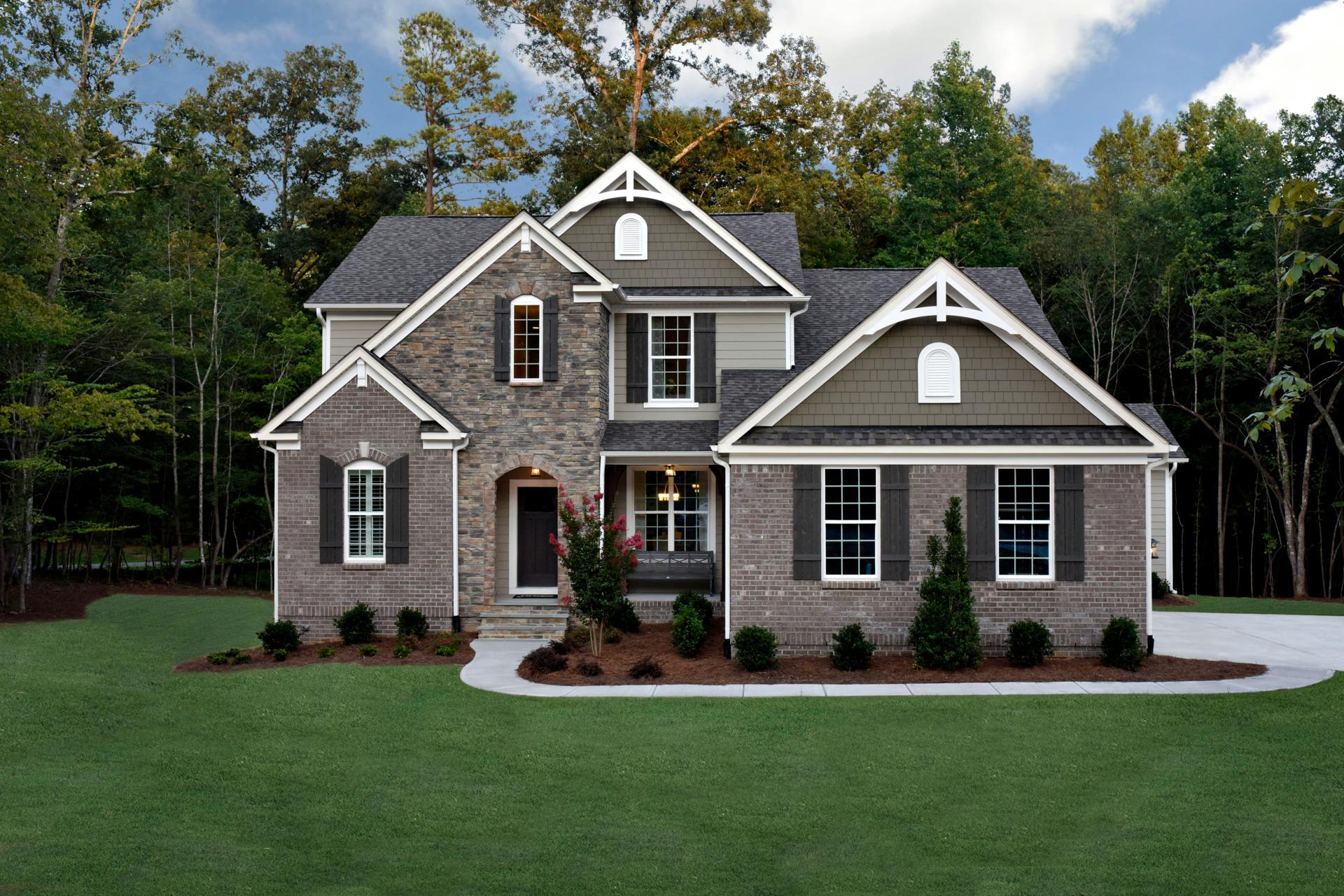 Exterior featured in the Branford By Drees Homes in Raleigh-Durham-Chapel Hill, NC